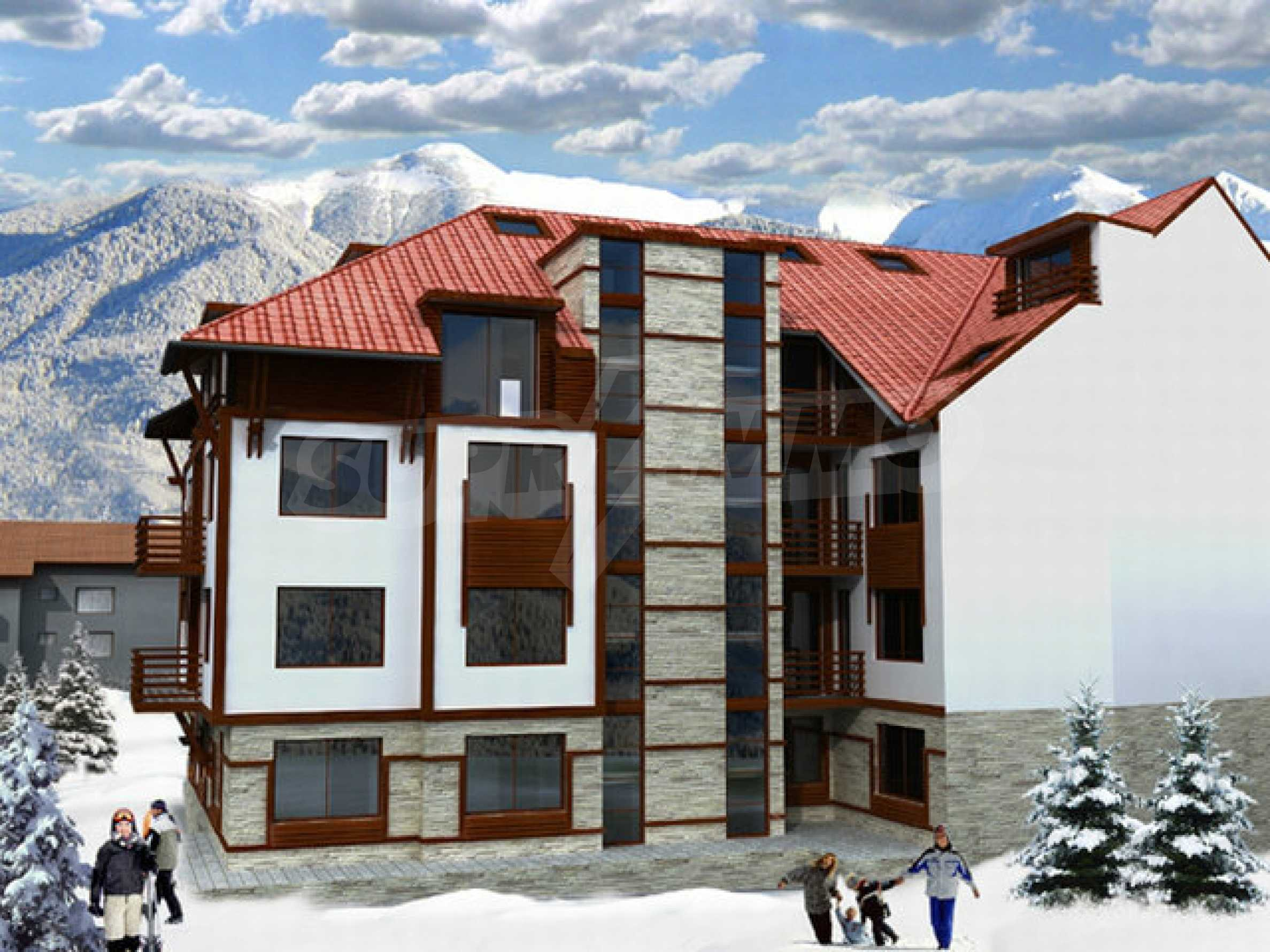 Grundstück mit genehmigtem Projekt zum Verkauf in Bansko 3