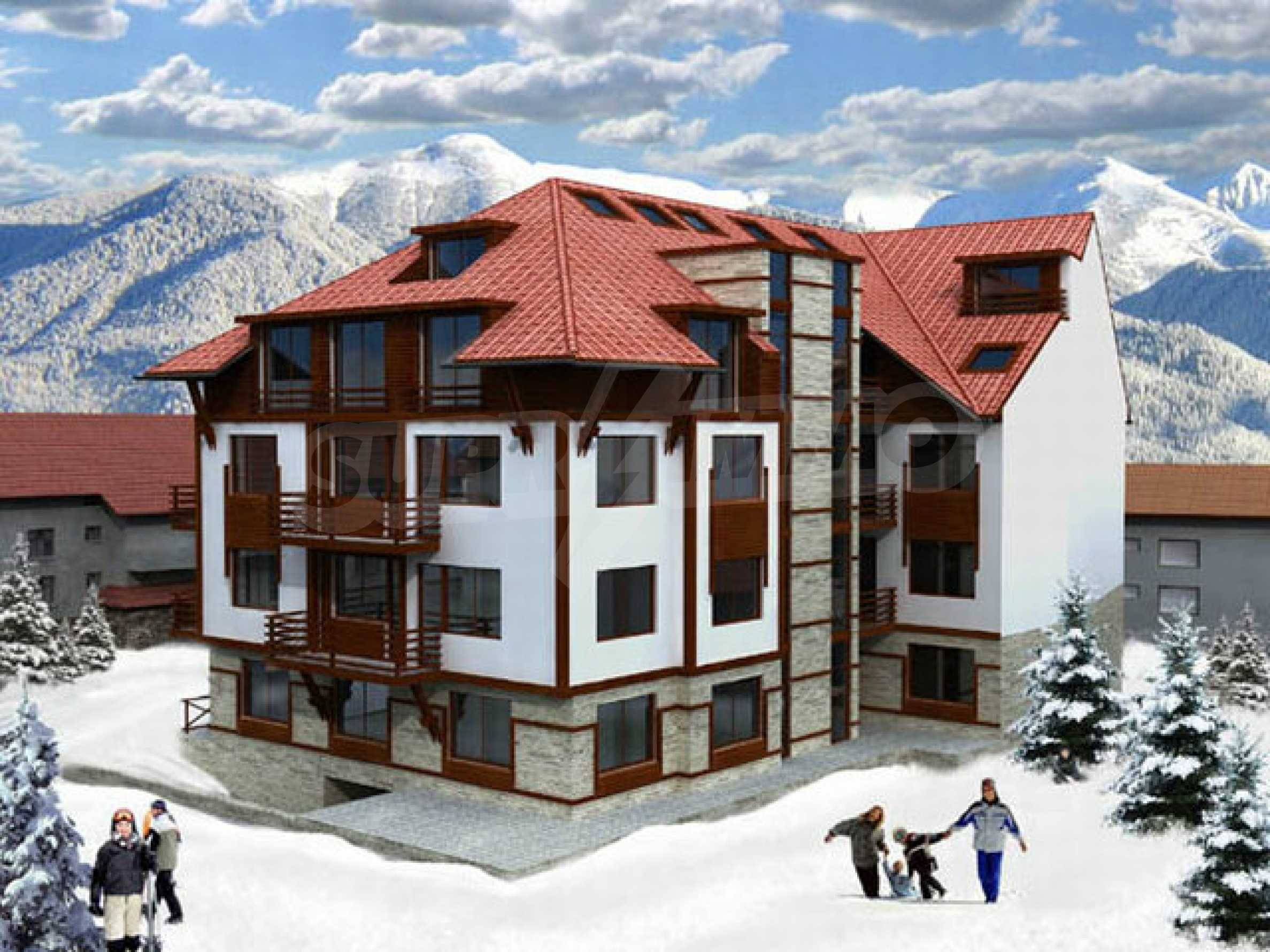 Building plot with project for sale in Bansko 4