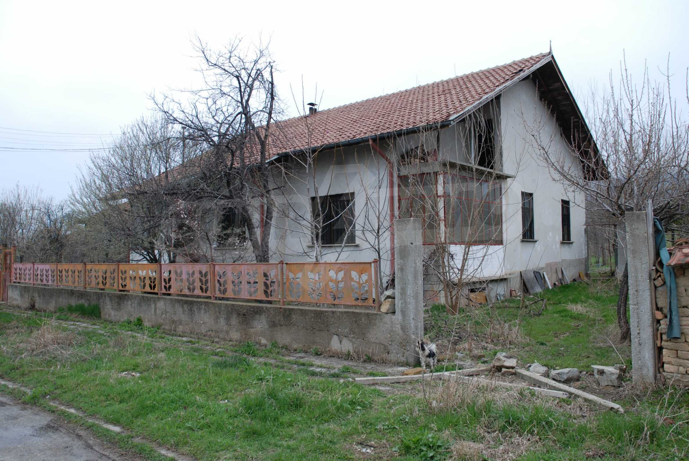 A big house near Danube river and the town of Svishtov 5