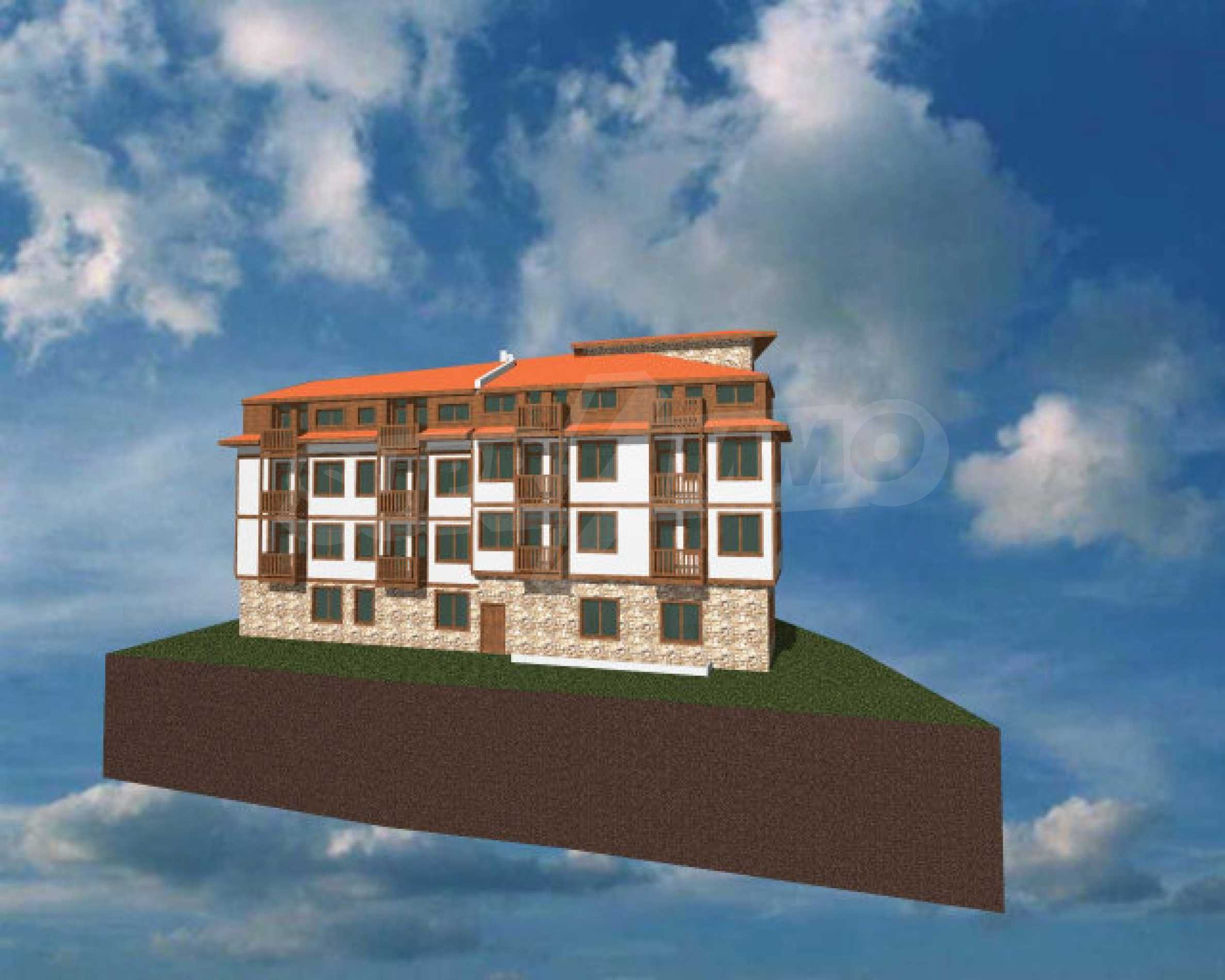 Three-storey hotel at shell stage for sale in Bansko  13