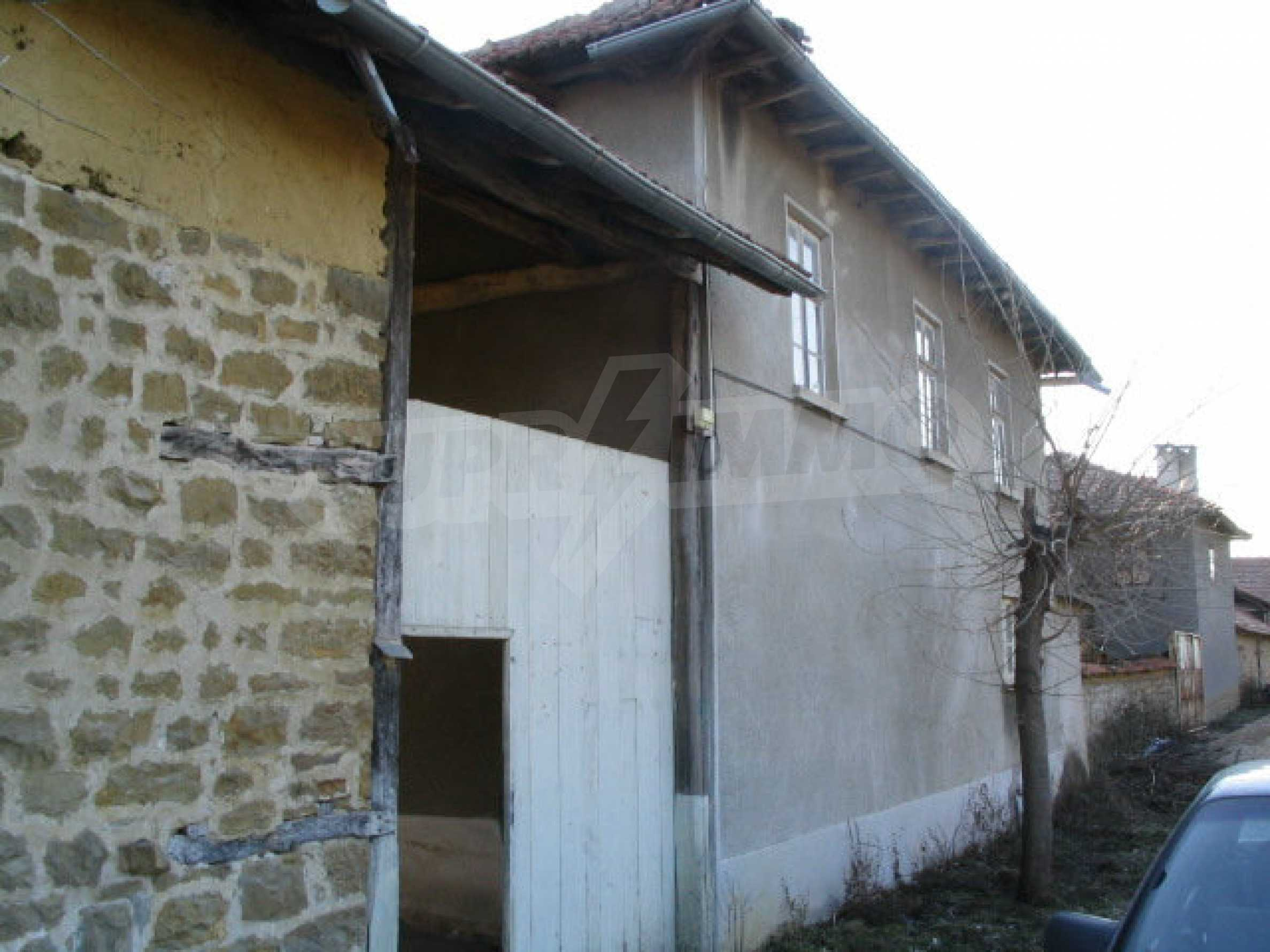 Solid built house in a village 20 km. from Veliko Tarnovo 3