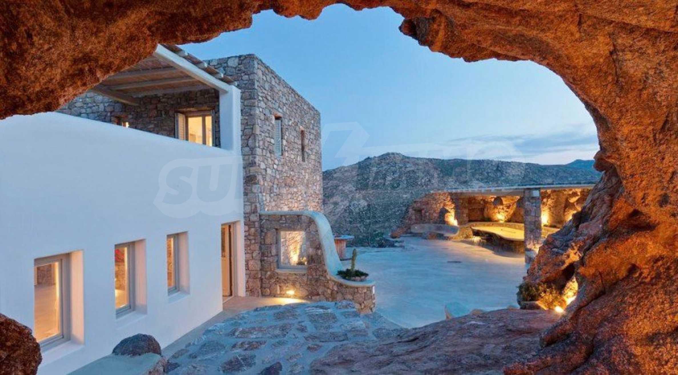 Солидна резиденция за ценители, о. Миконос