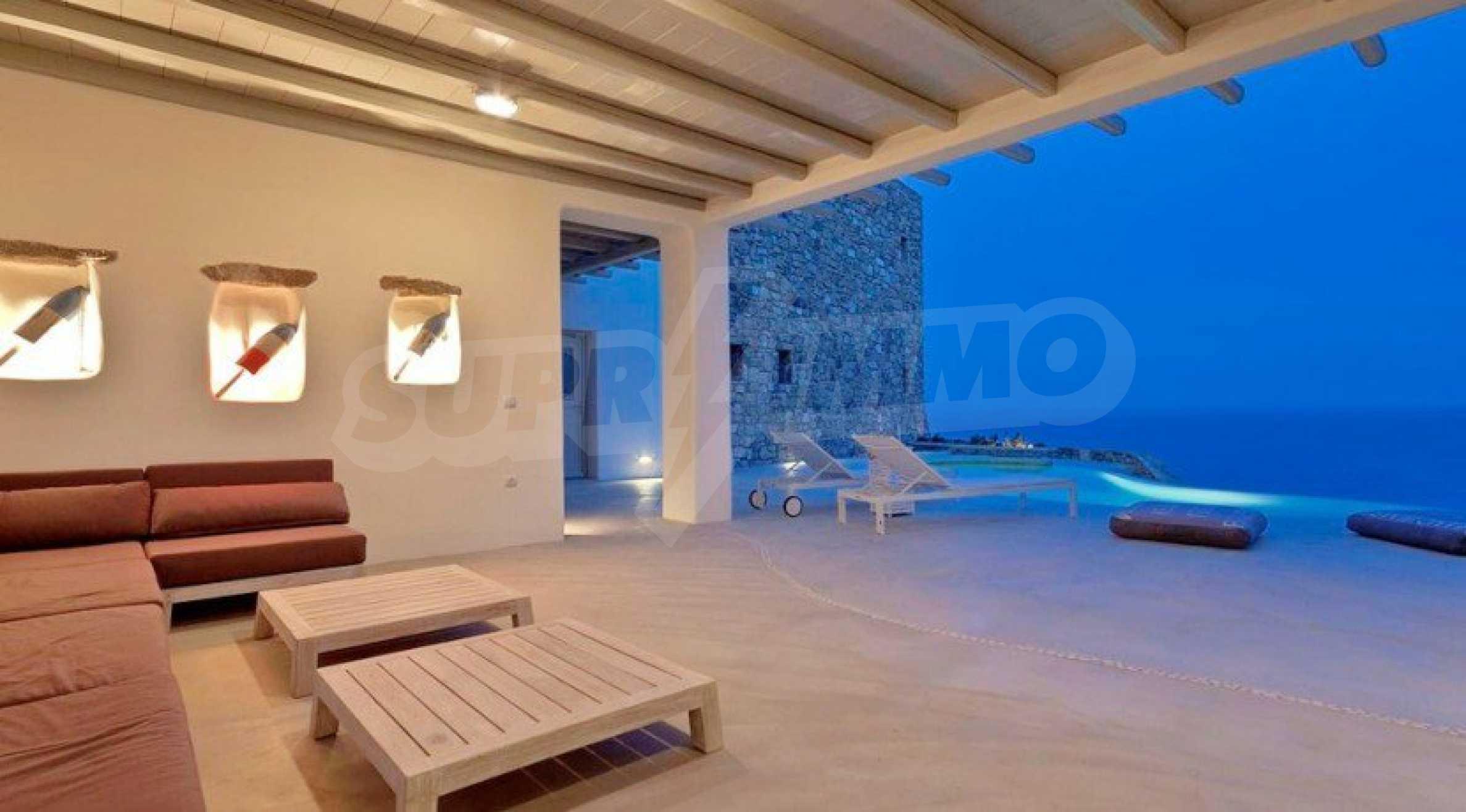 Солидна резиденция за ценители, о. Миконос 19