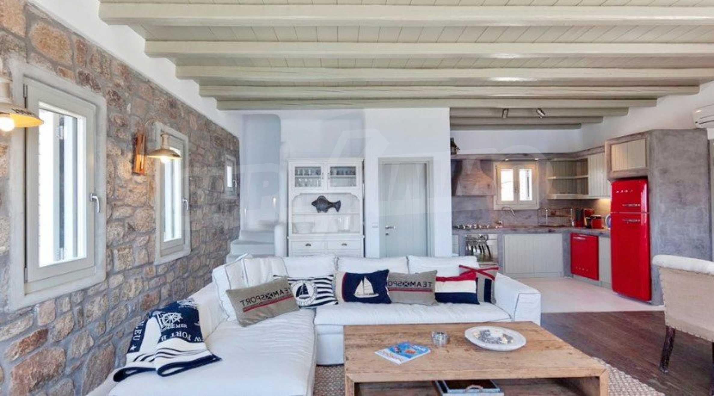 Солидна резиденция за ценители, о. Миконос 7