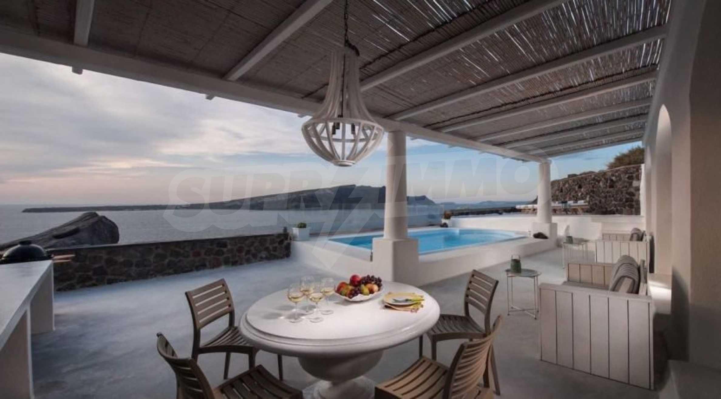 Грациозен имот с приказна гледка на остров Санторини 3