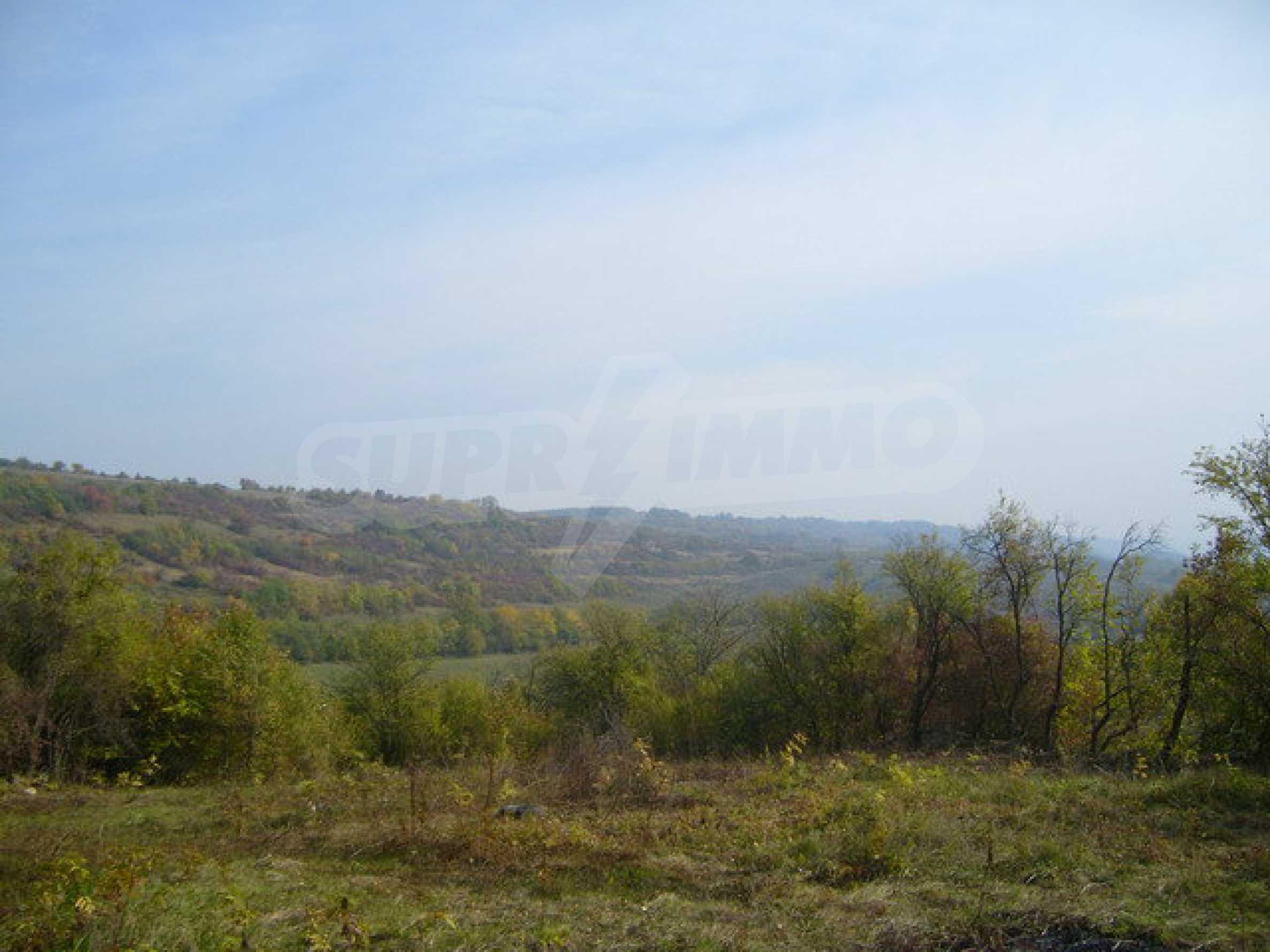 Земельный участок в деревне с красивым пейзажем 9