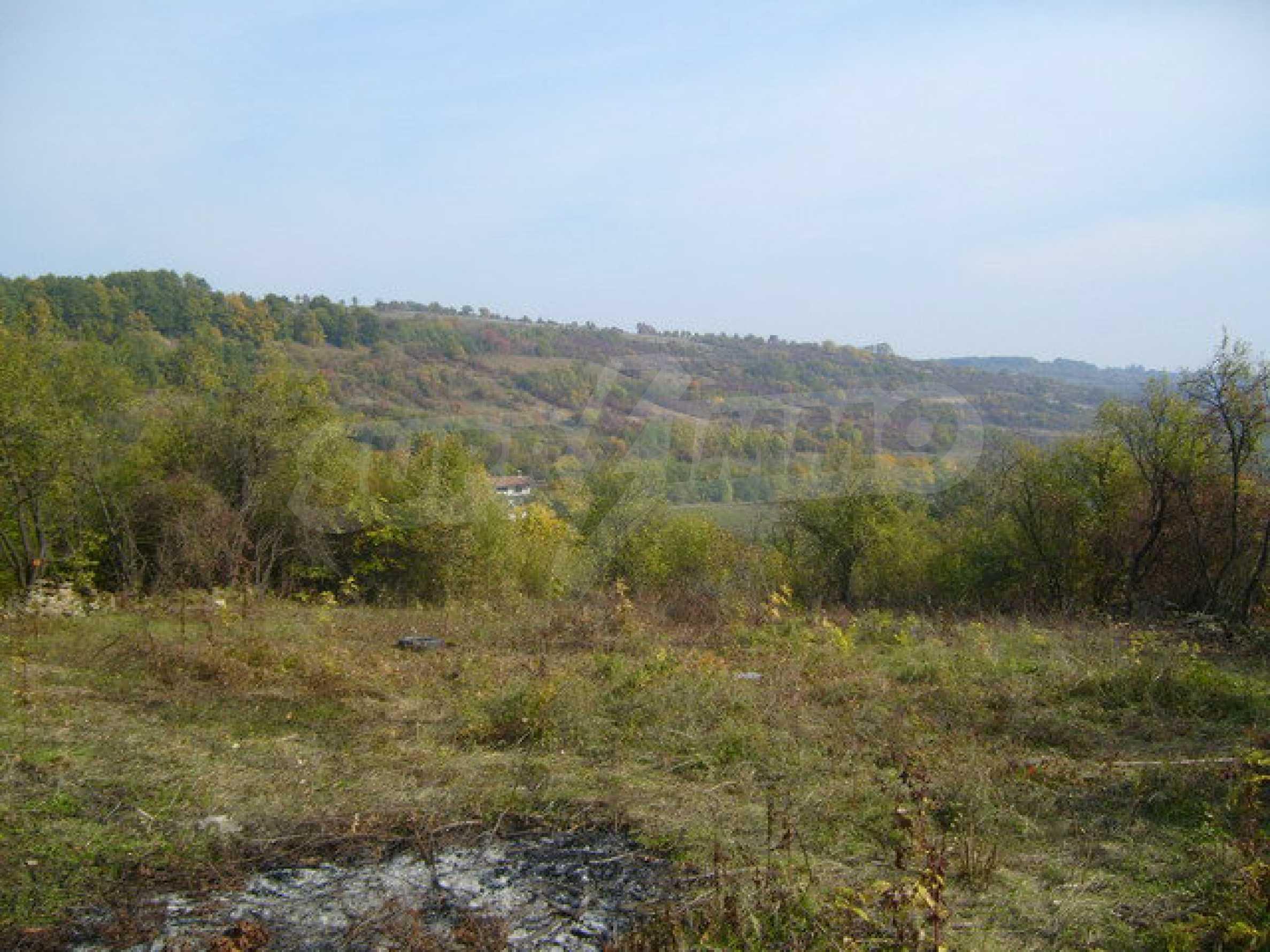 Земельный участок в деревне с красивым пейзажем 8