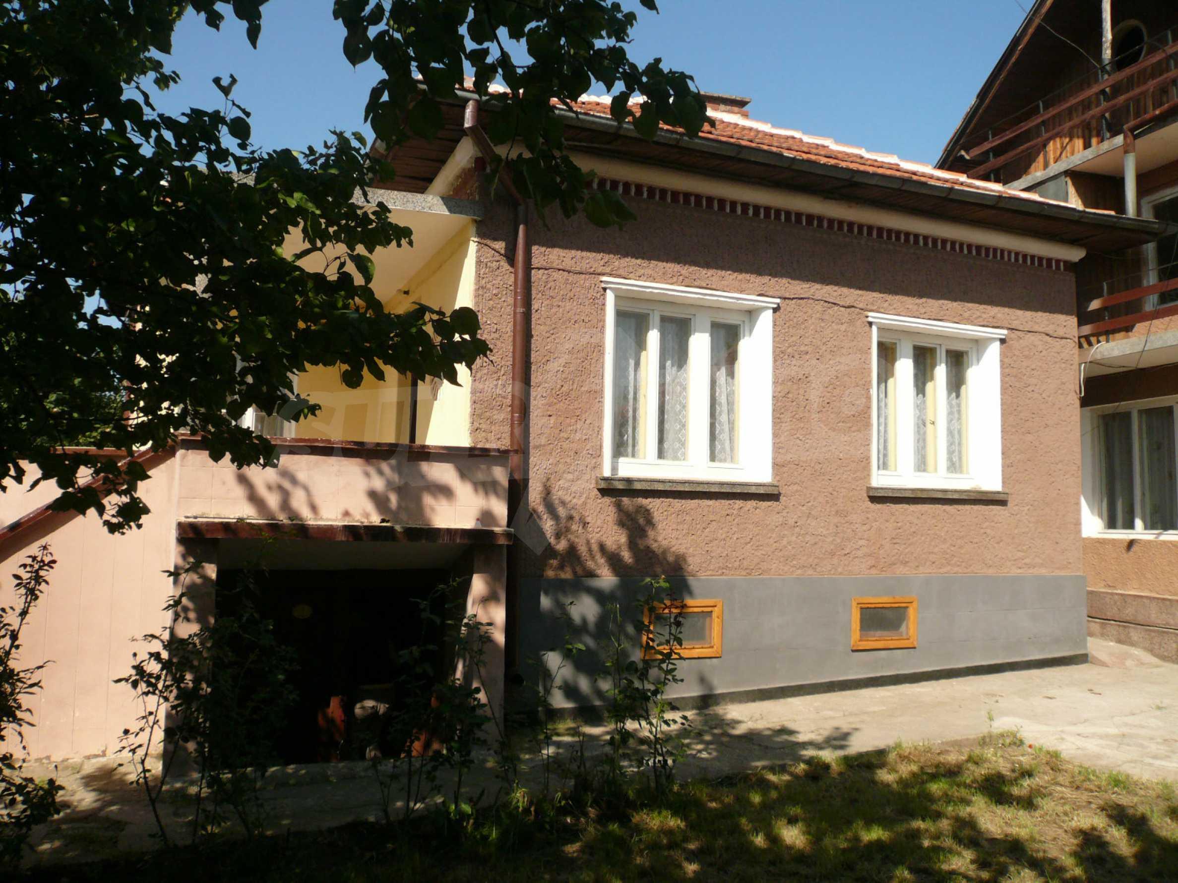 Ländliche Häuser mit einem Garten 12 km von Vidin entfernt