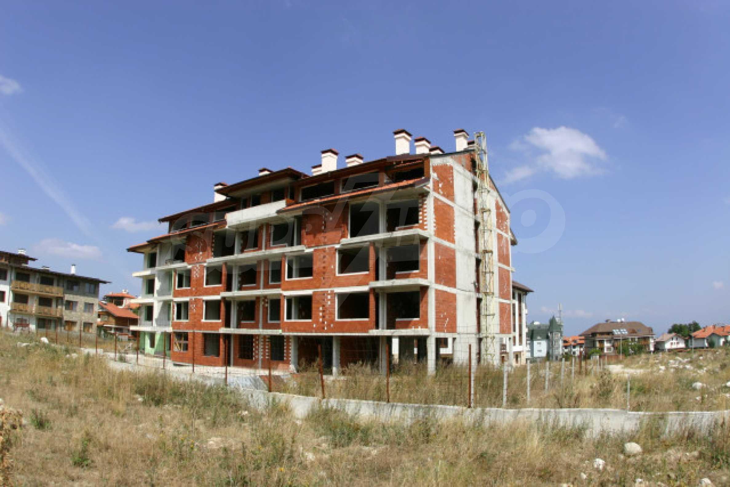 Сграда на фаза груб строеж