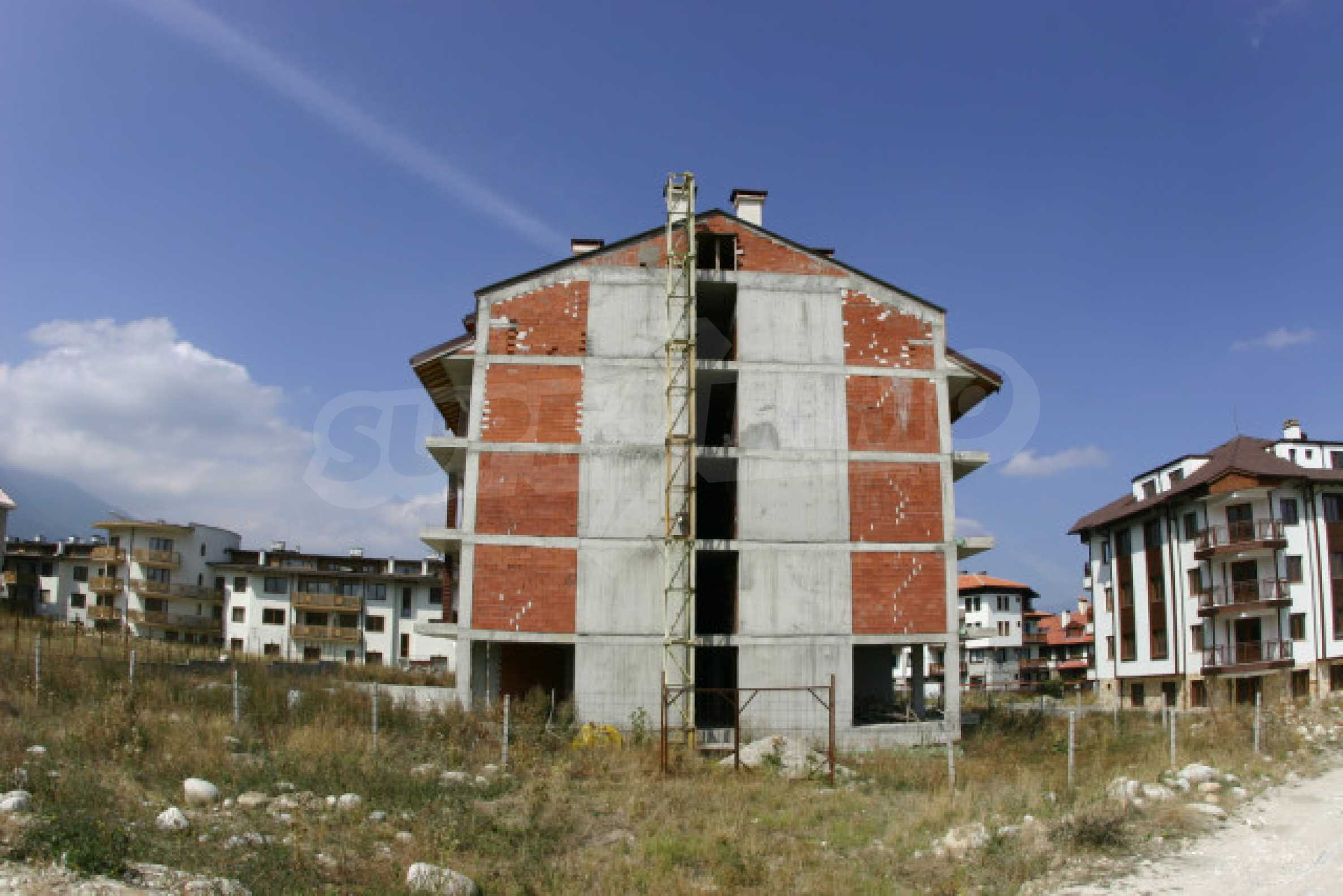 Сграда на фаза груб строеж 2