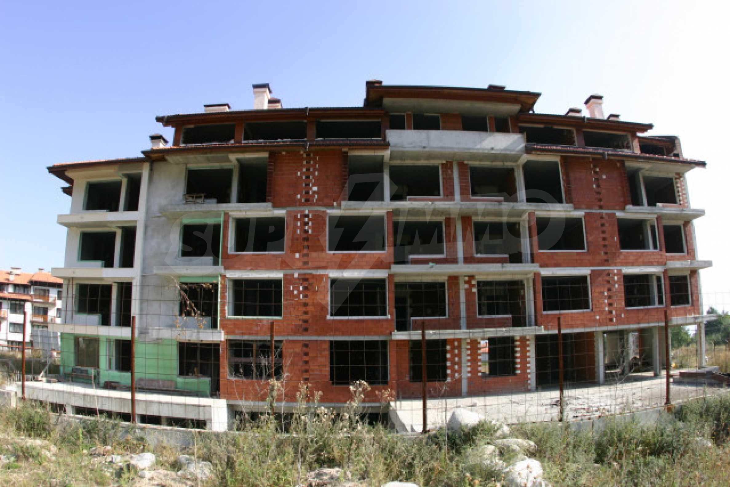 Сграда на фаза груб строеж 4
