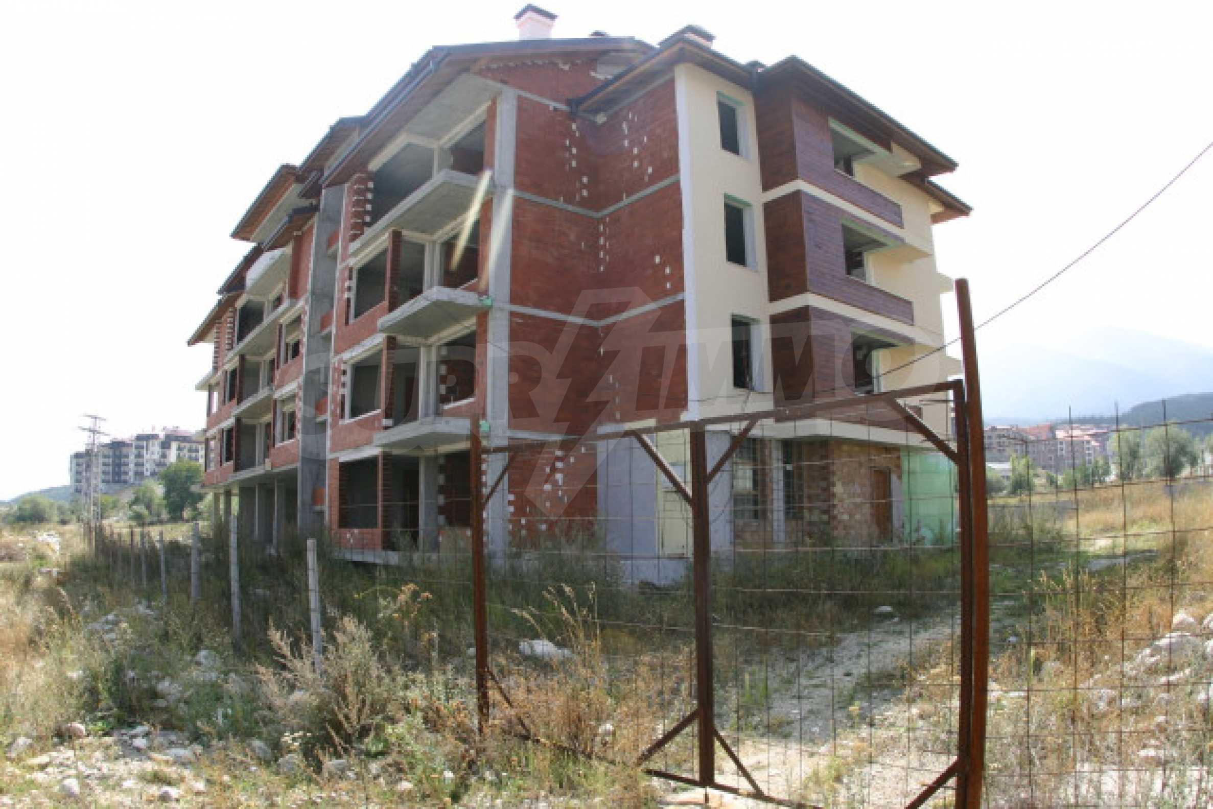 Сграда на фаза груб строеж 5