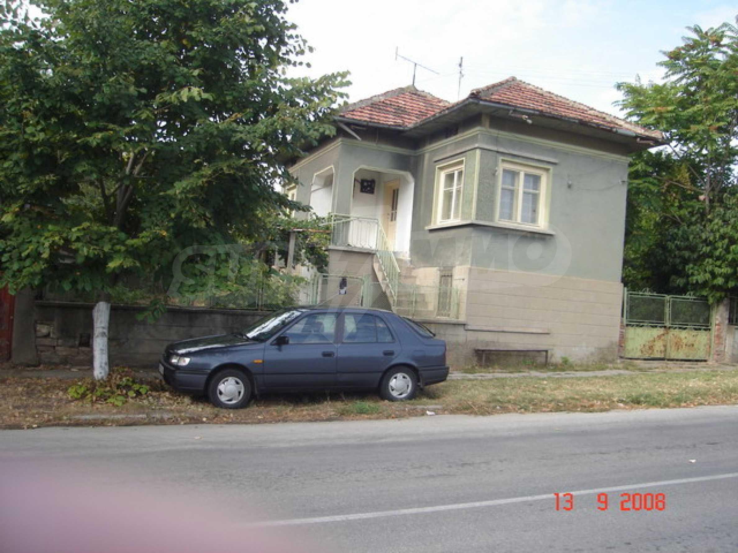 House near the Danube river