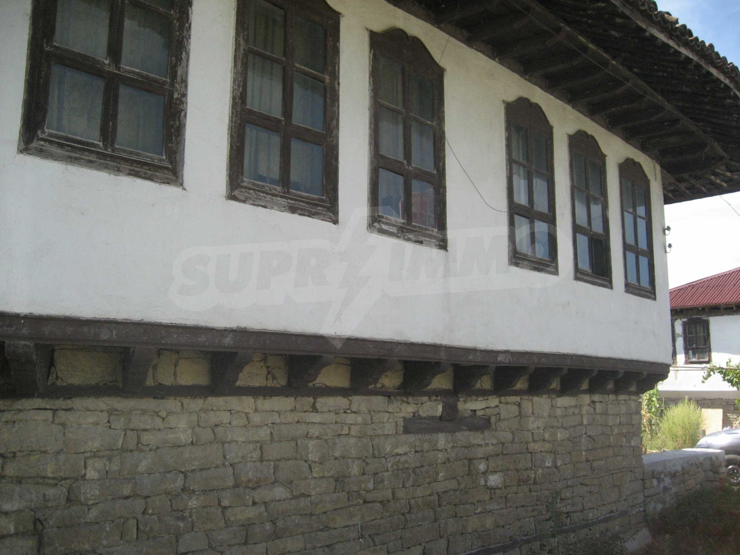 House built in traditional Bulgarian Style