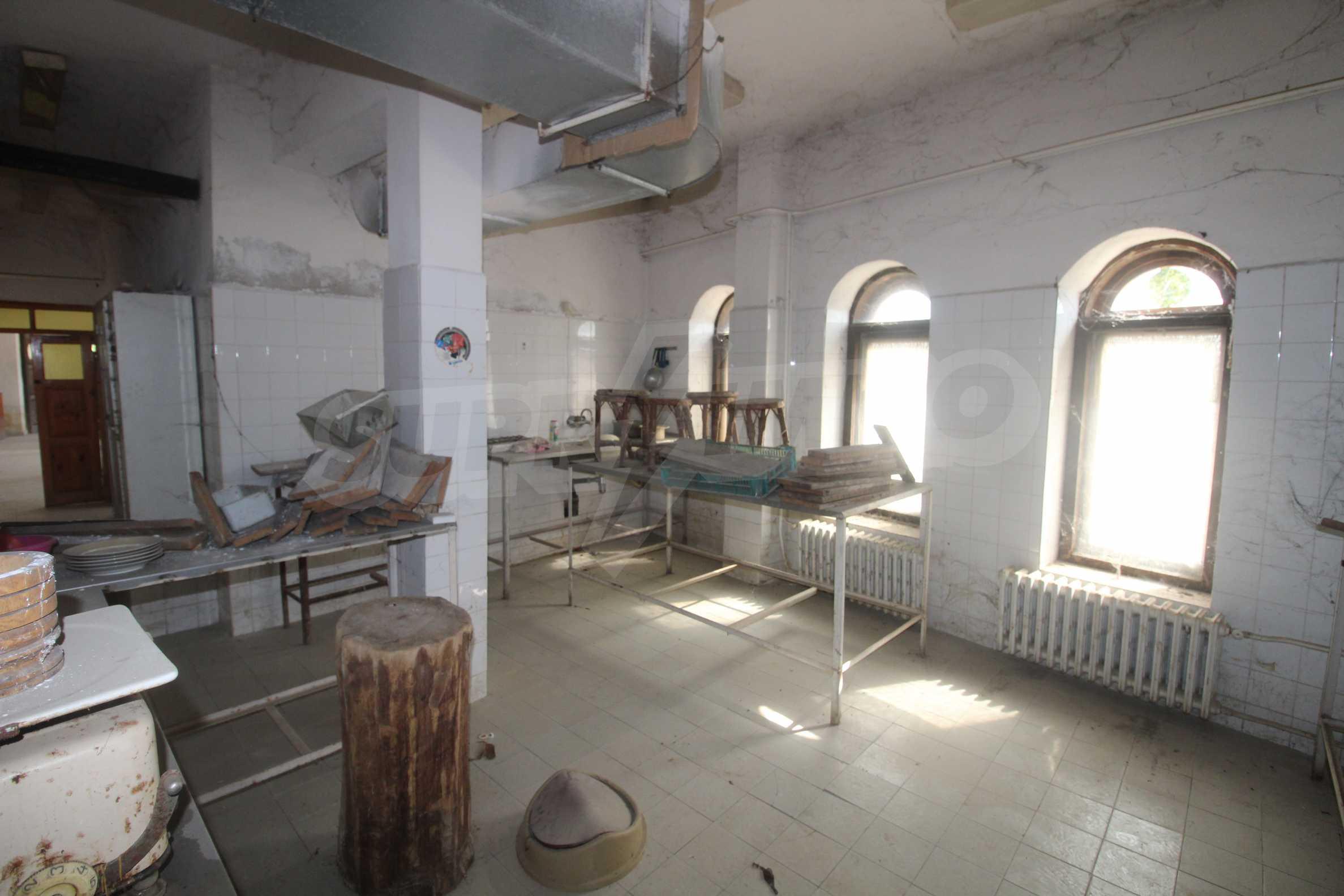 Restaurant am Fuße des Tsarevets-Hügels in Veliko Tarnovo