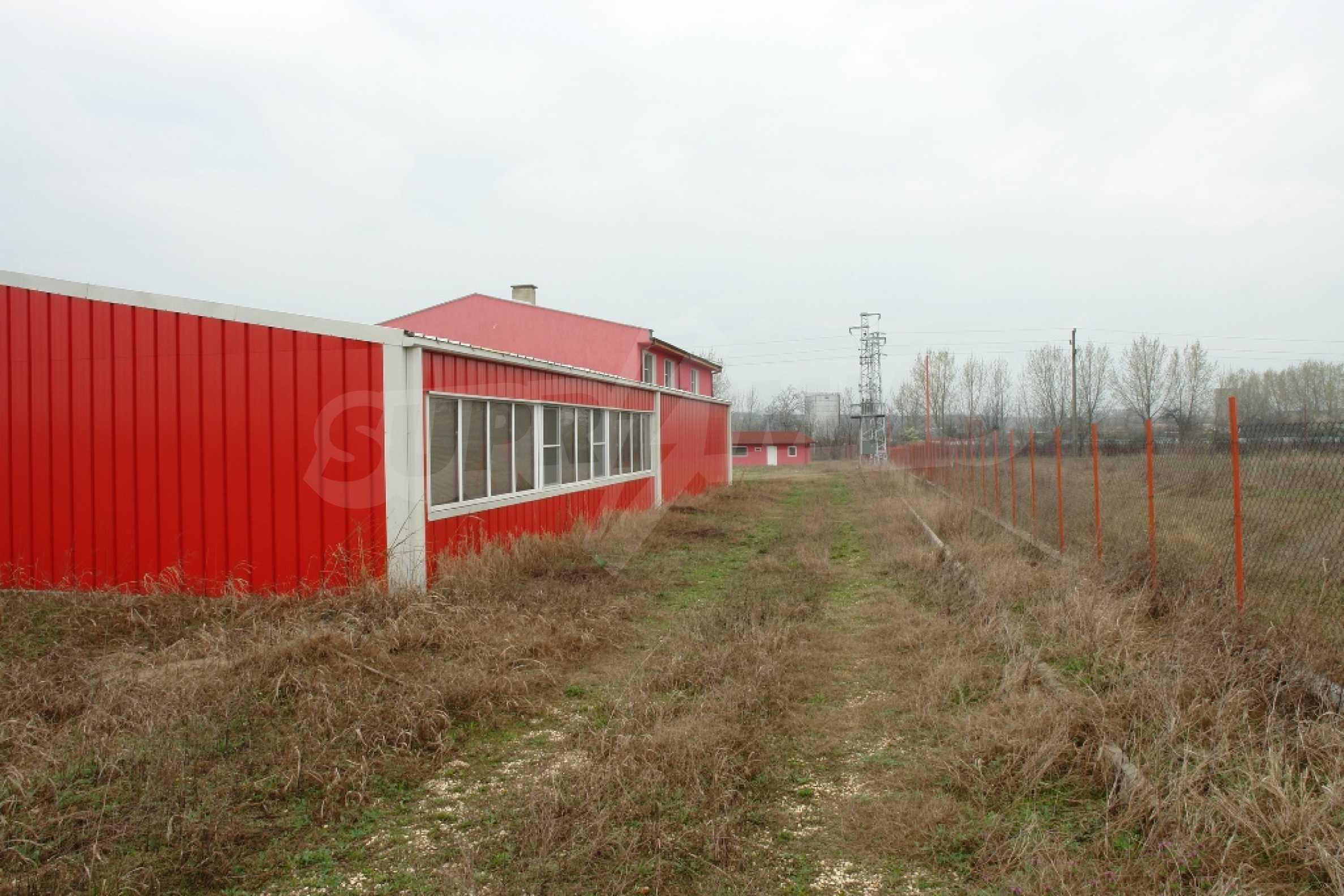 Industrieverpackungsbasis in der Stadt Martin, Region Ruse 29