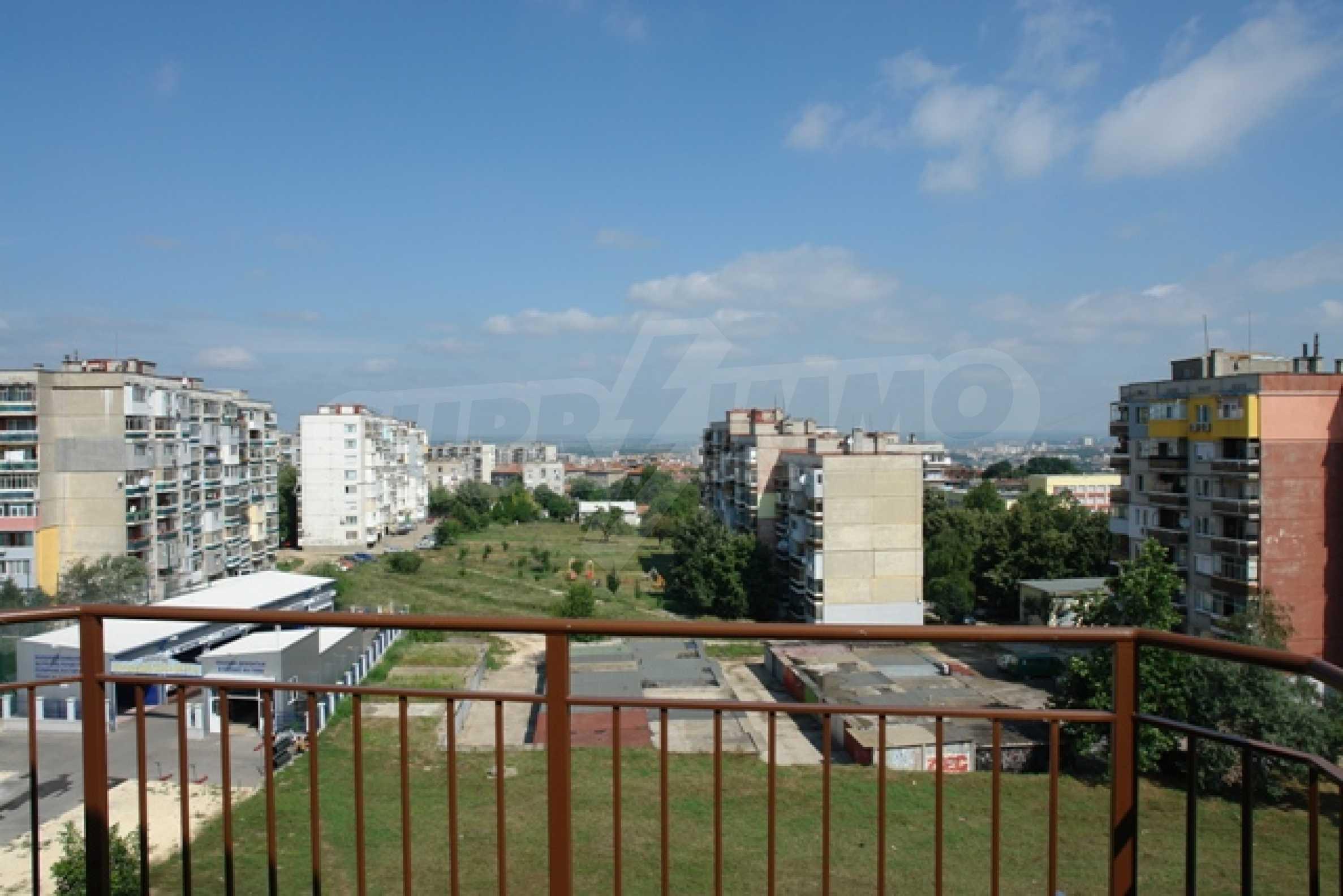 Apartment mit zwei Schlafzimmern in Rousse mit atemberaubendem Panorama auf die Stadt