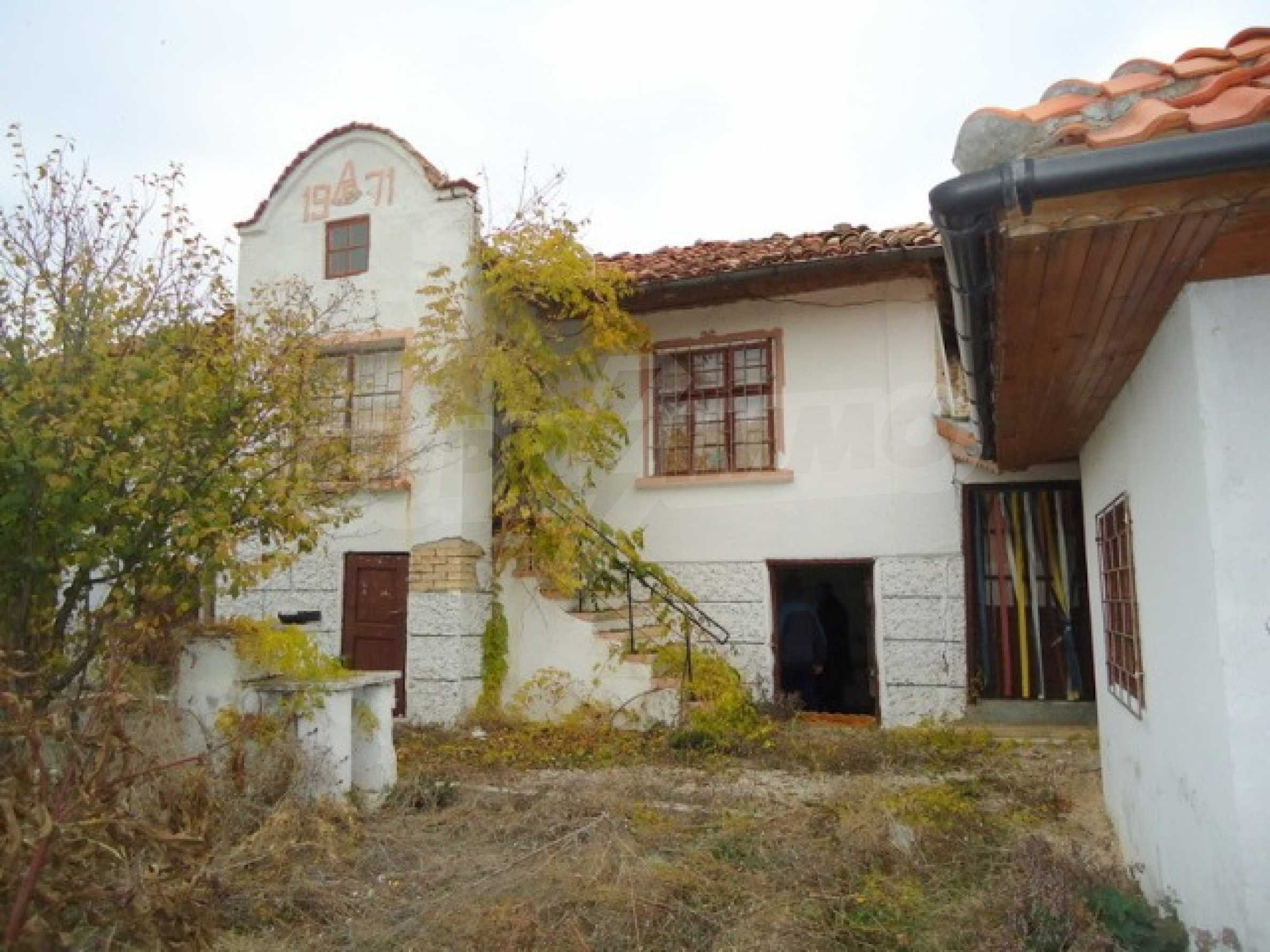 Two-storey house 24 km from the city of Shumen