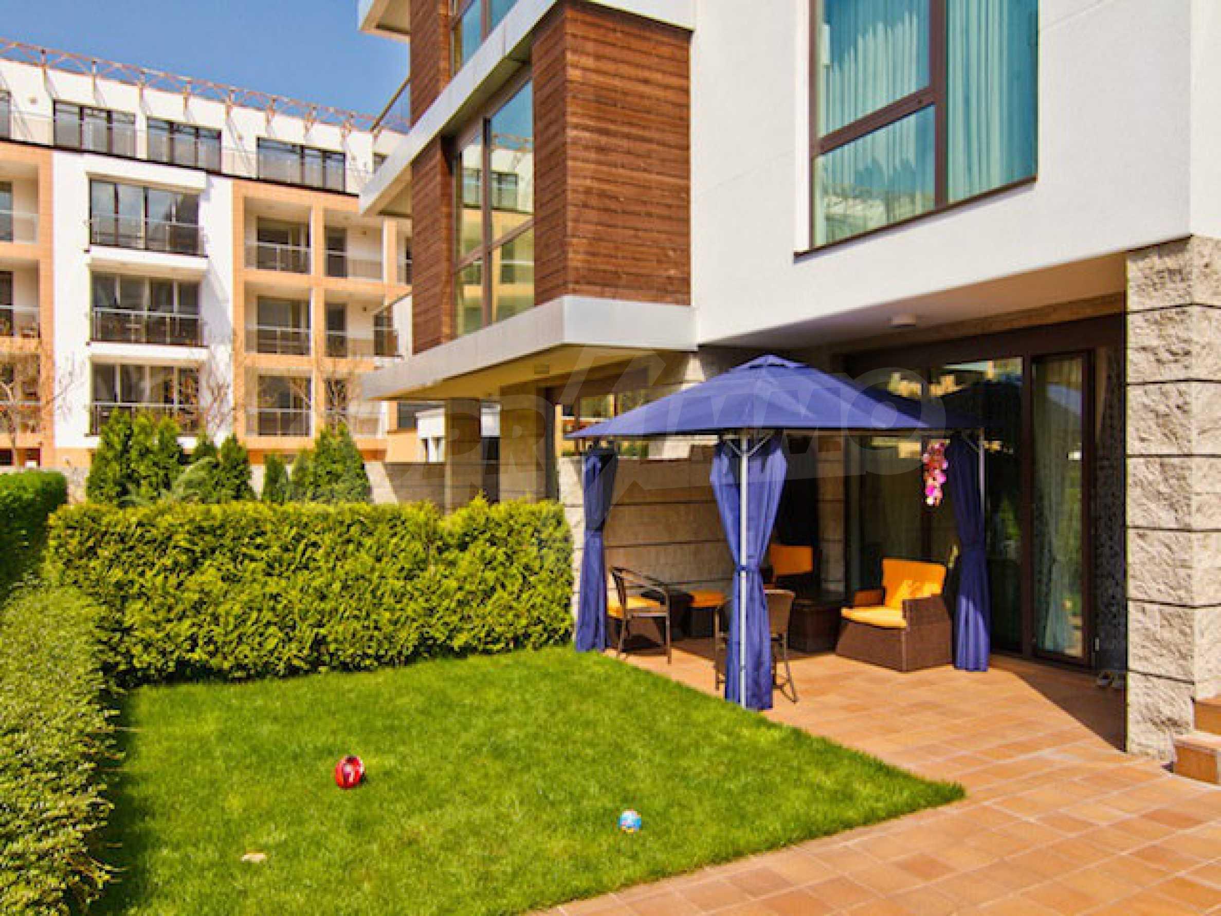 Luxuriös eingerichtetes Apartment mit einem Schlafzimmer 32