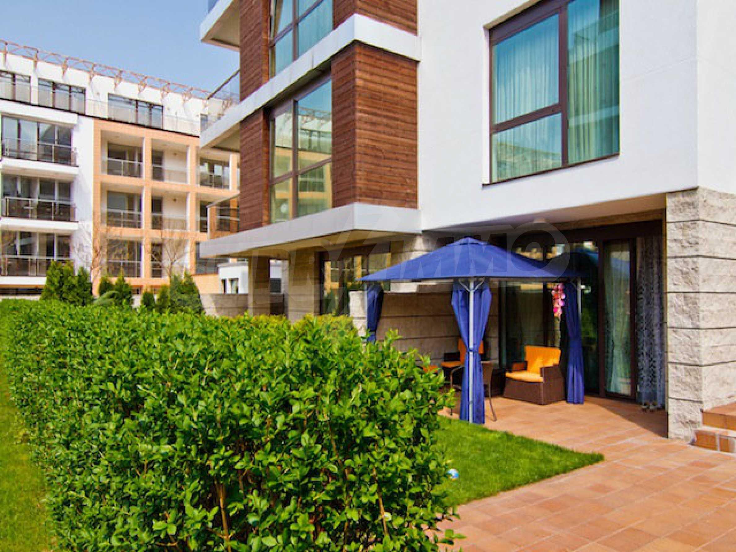 Luxuriös eingerichtetes Apartment mit einem Schlafzimmer 33