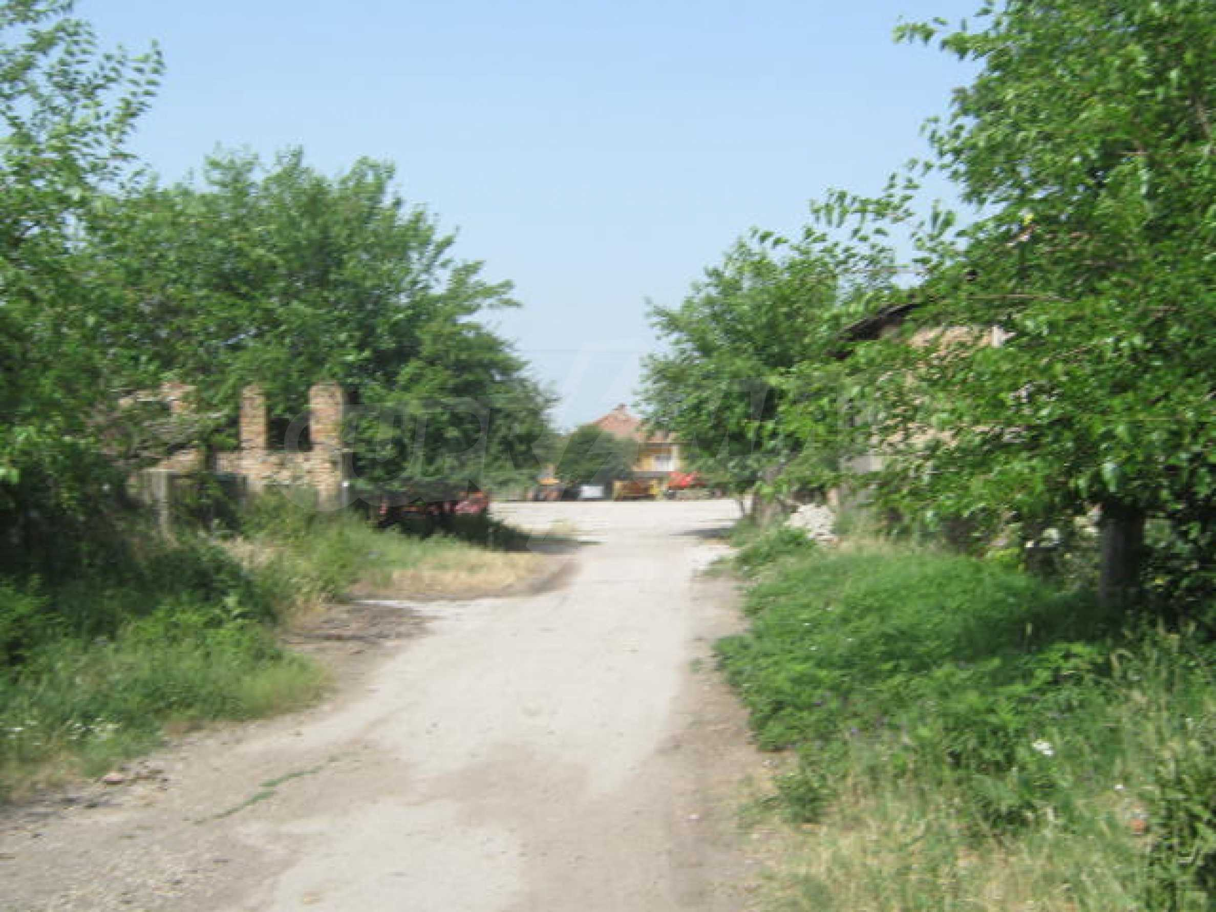 Rural house with yard on the Danube river 3