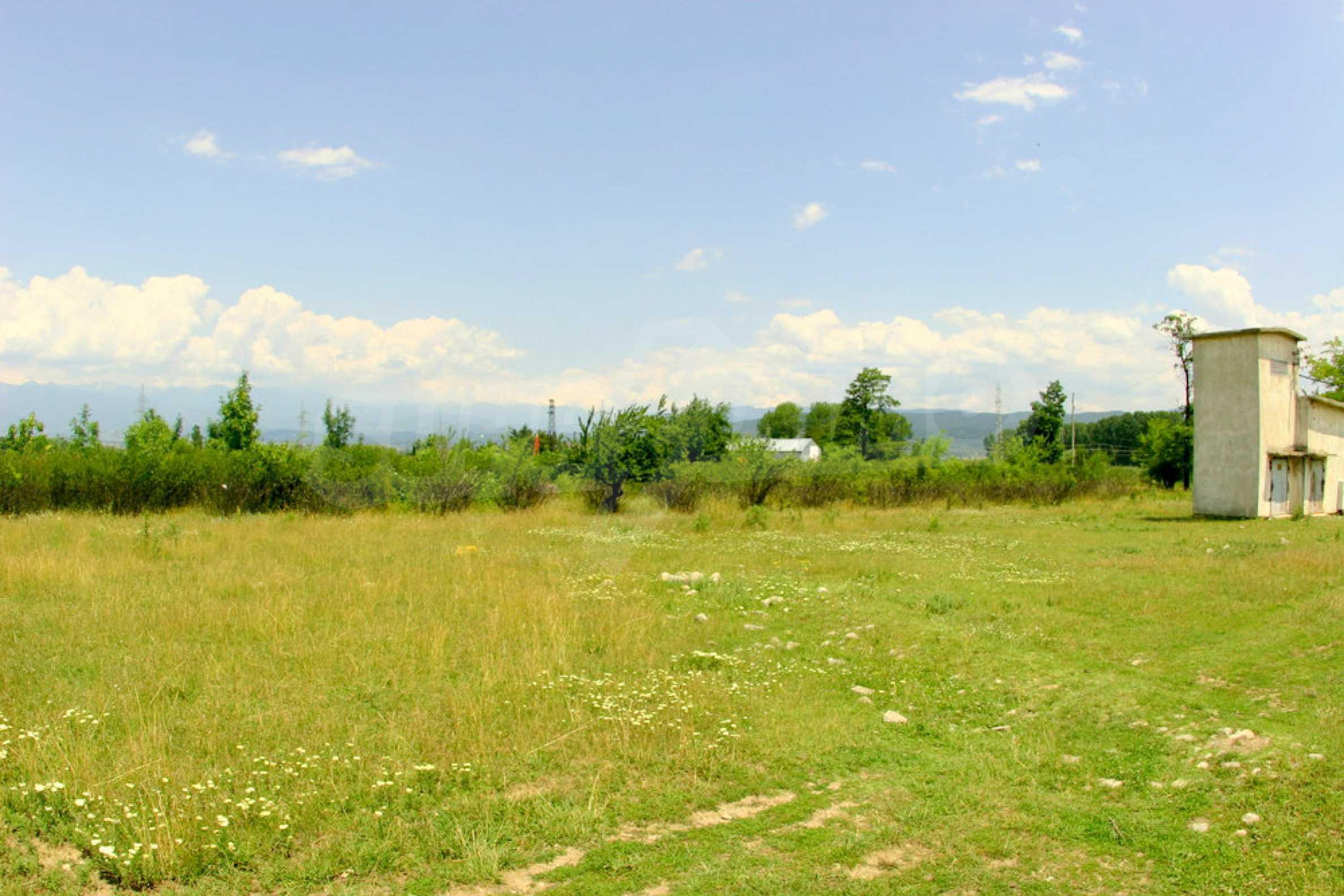Ackerland in der Nähe von Bansko Skigebiet 9