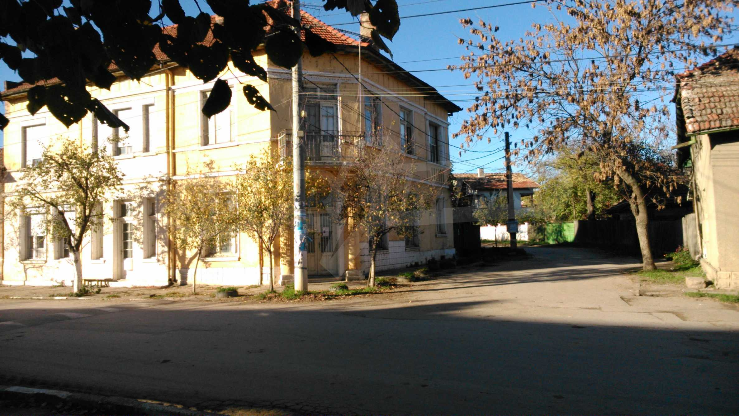 Two-storey house with yard in the center of developed village 1