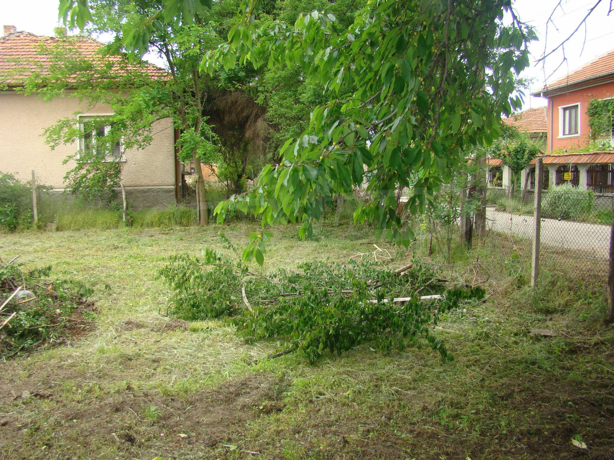 Къща с голям двор в село на брега на река Дунав 11