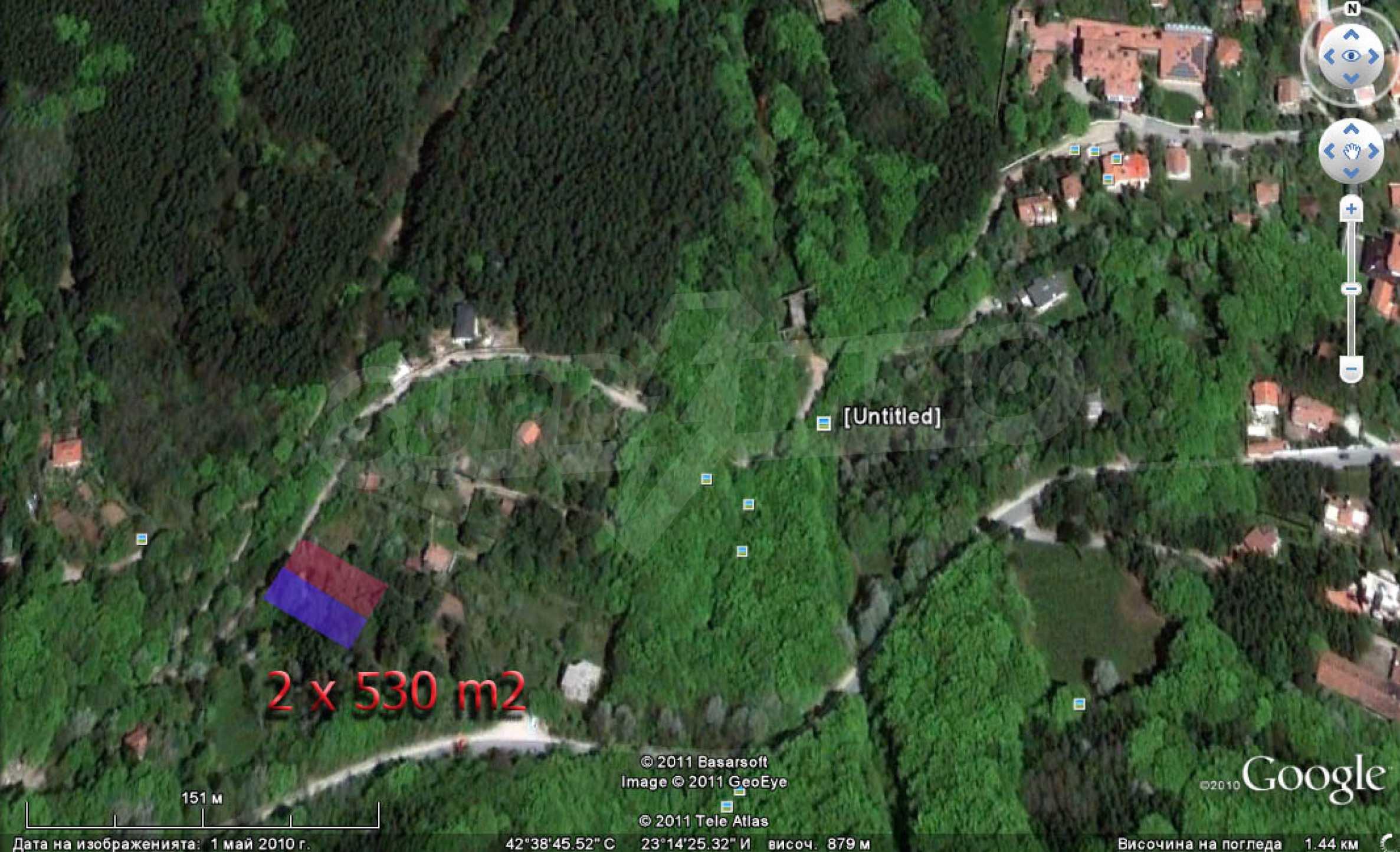 Two plots for sale in Boyan, Sofia. 9