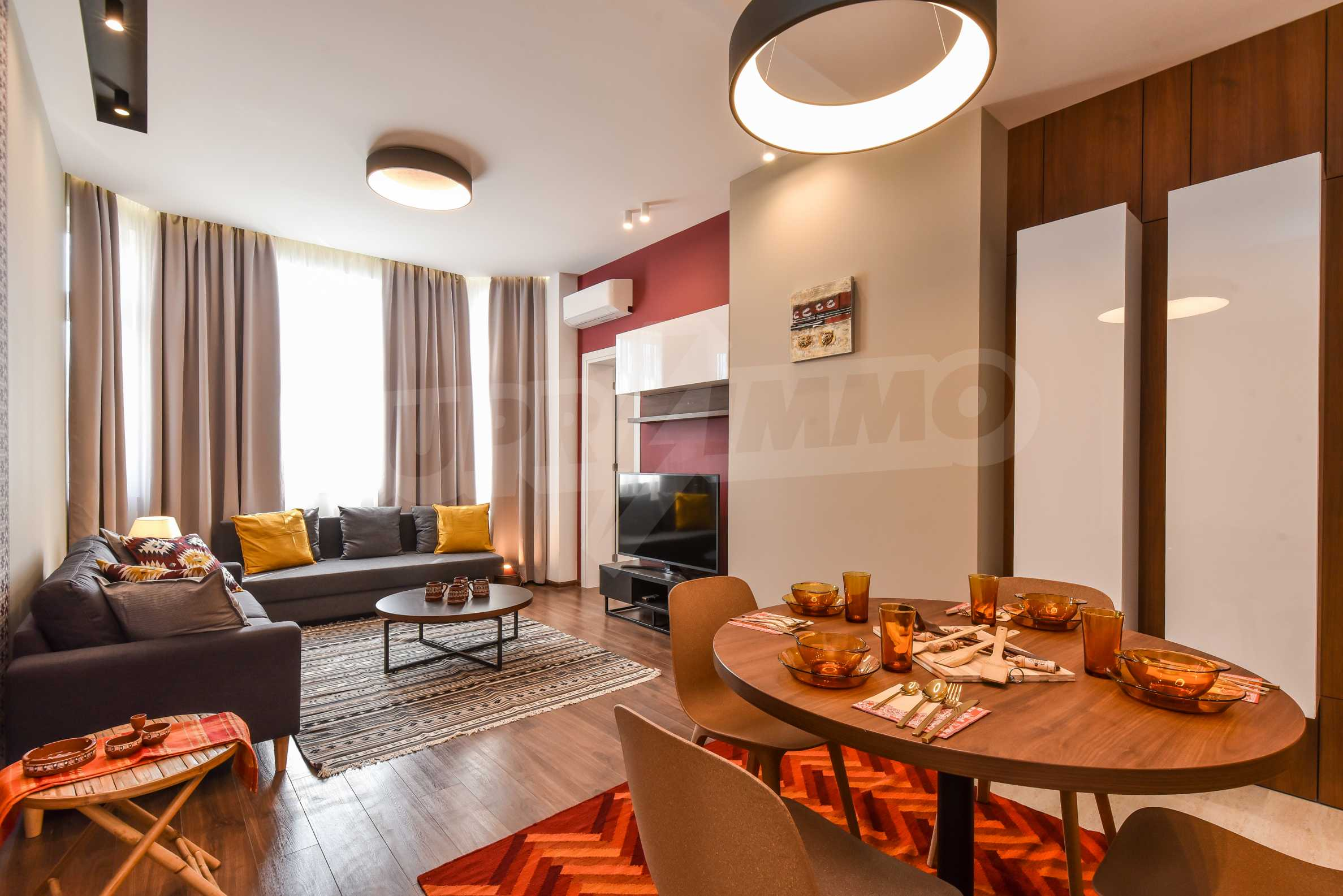 Modern three bedroom apartment with working business in the center of Sofia 1