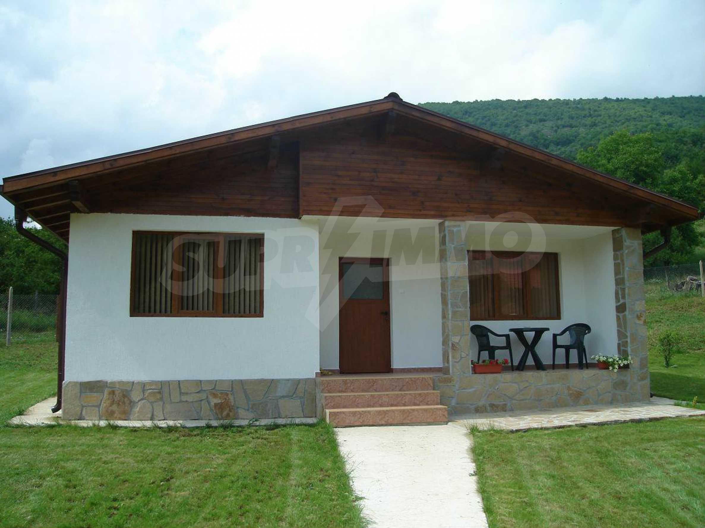 Two cozy bungalows/villas in one plot in popular Ribaritza