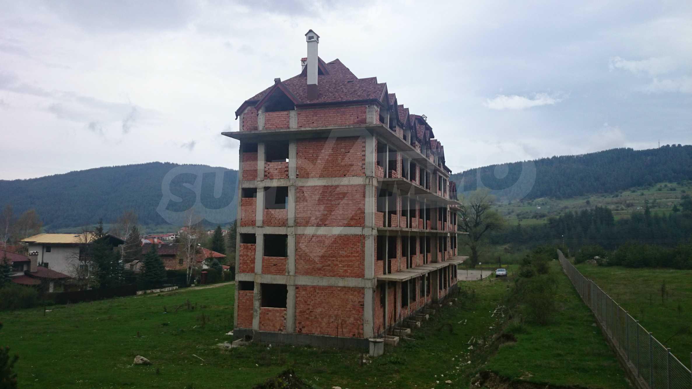 Raues Bauhotel in der Nähe von Borovets 5