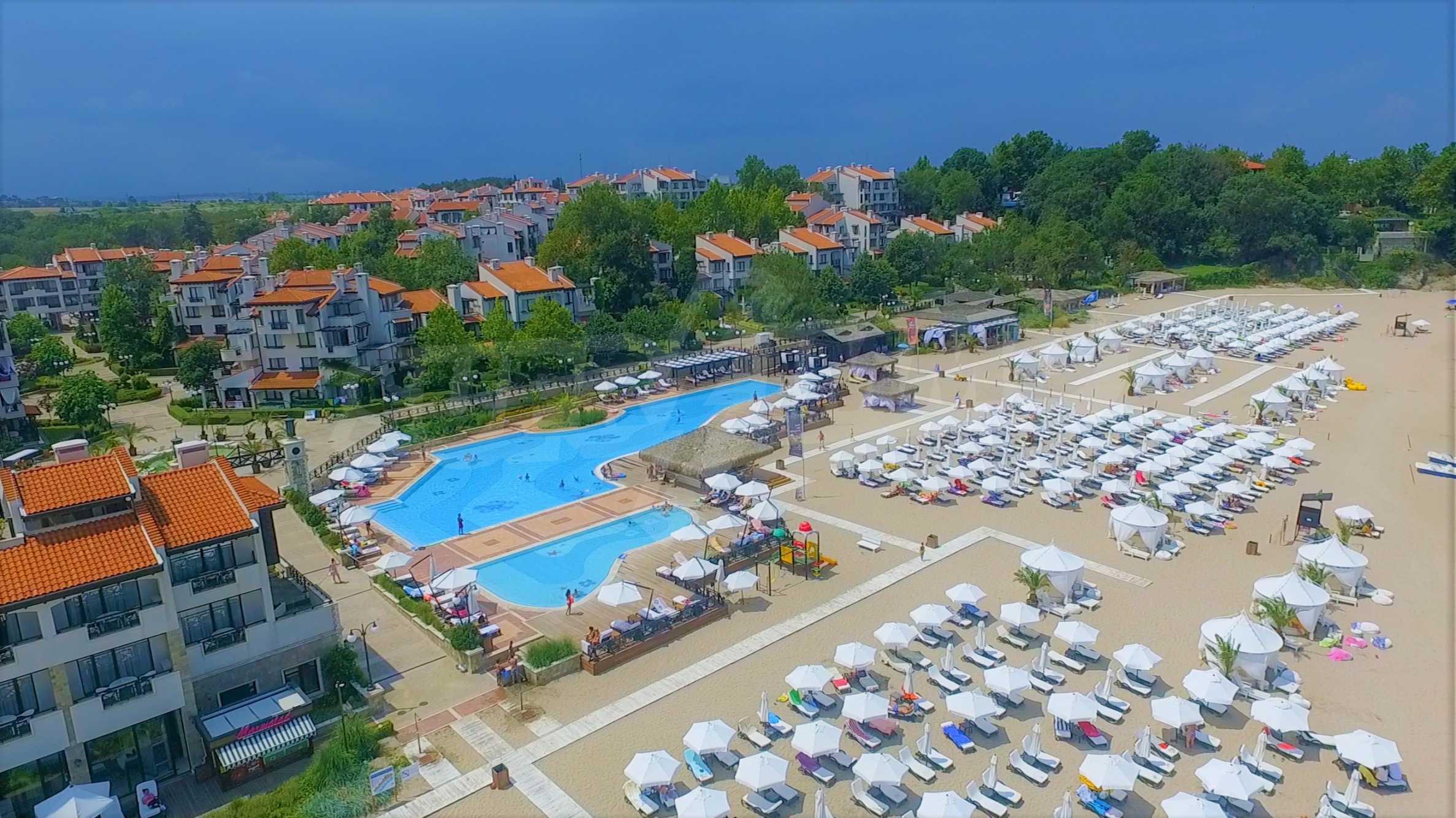 """Luxuriöse Wohnung in einer Elite-Anlage in Strandnähe """"Oasis"""" in Lozenets 21"""