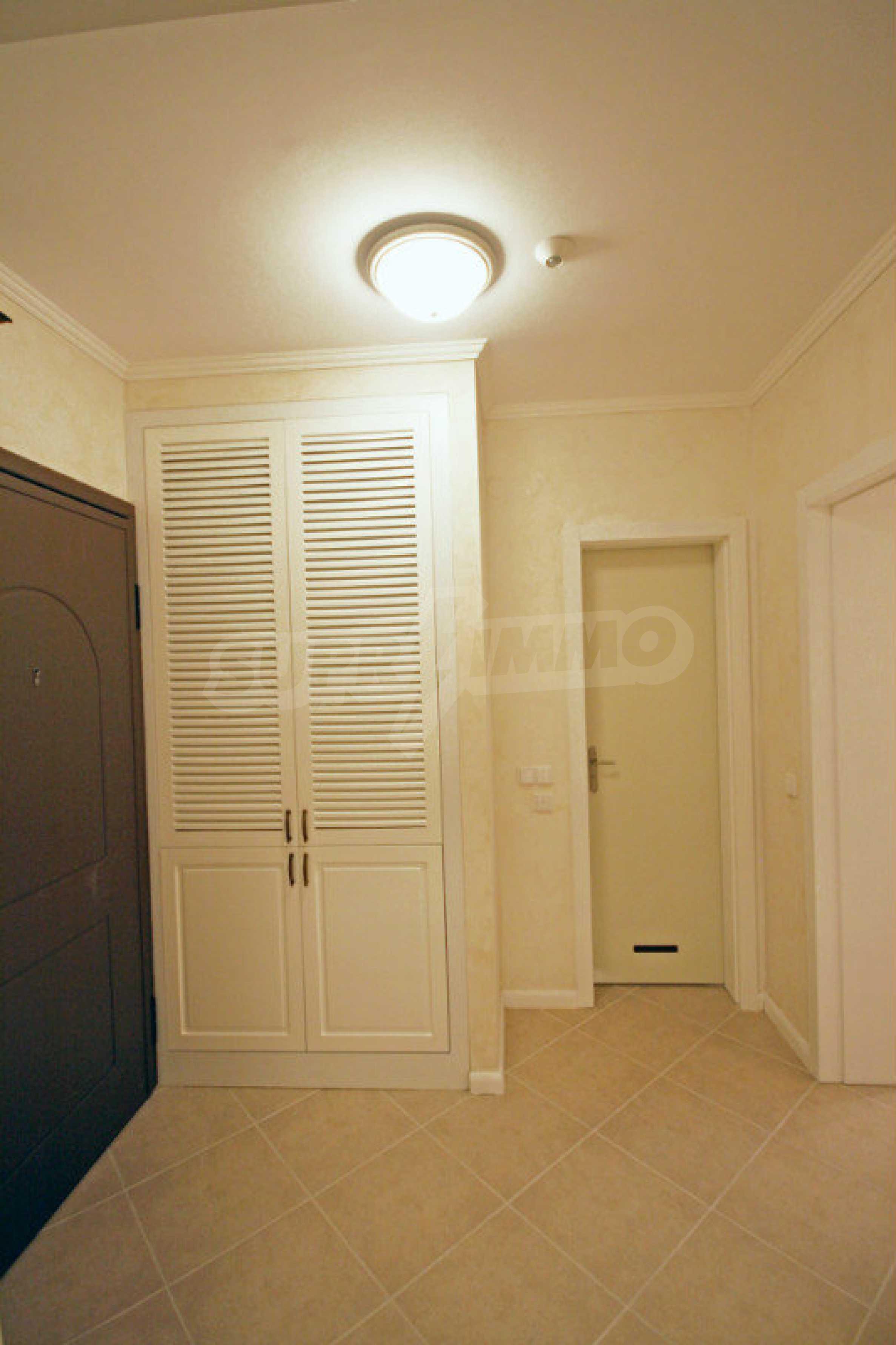"""Komfortables Apartment mit einem Schlafzimmer in einem prestigeträchtigen Komplex in der Nähe des Strandes """"Oasis"""" 5"""