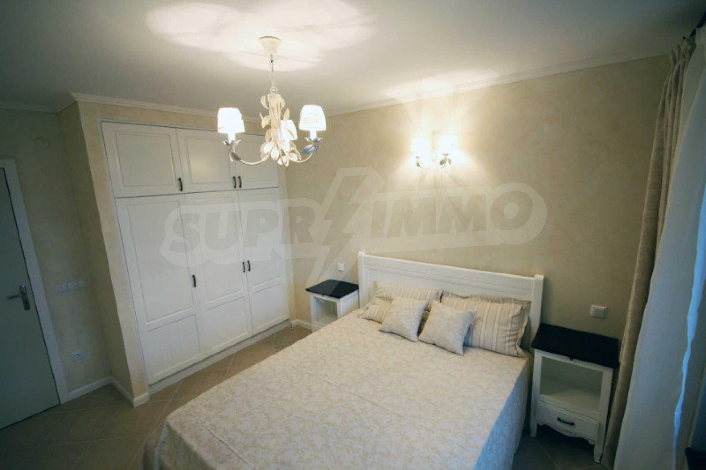 """Komfortables Apartment mit einem Schlafzimmer in einem prestigeträchtigen Komplex in der Nähe des Strandes """"Oasis"""" 6"""