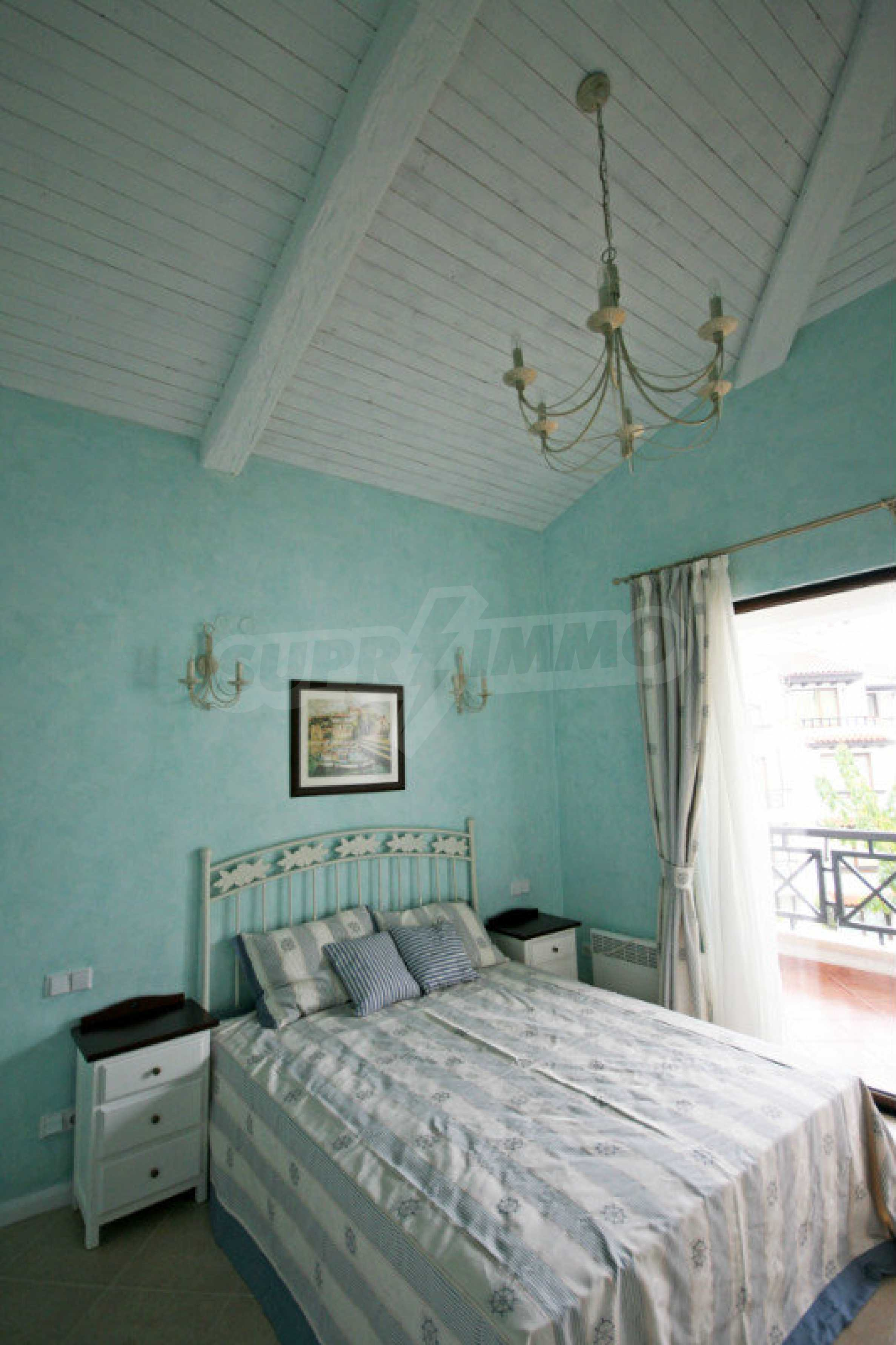 Two bedroom apartment with stylish furniture in a first line complex 8