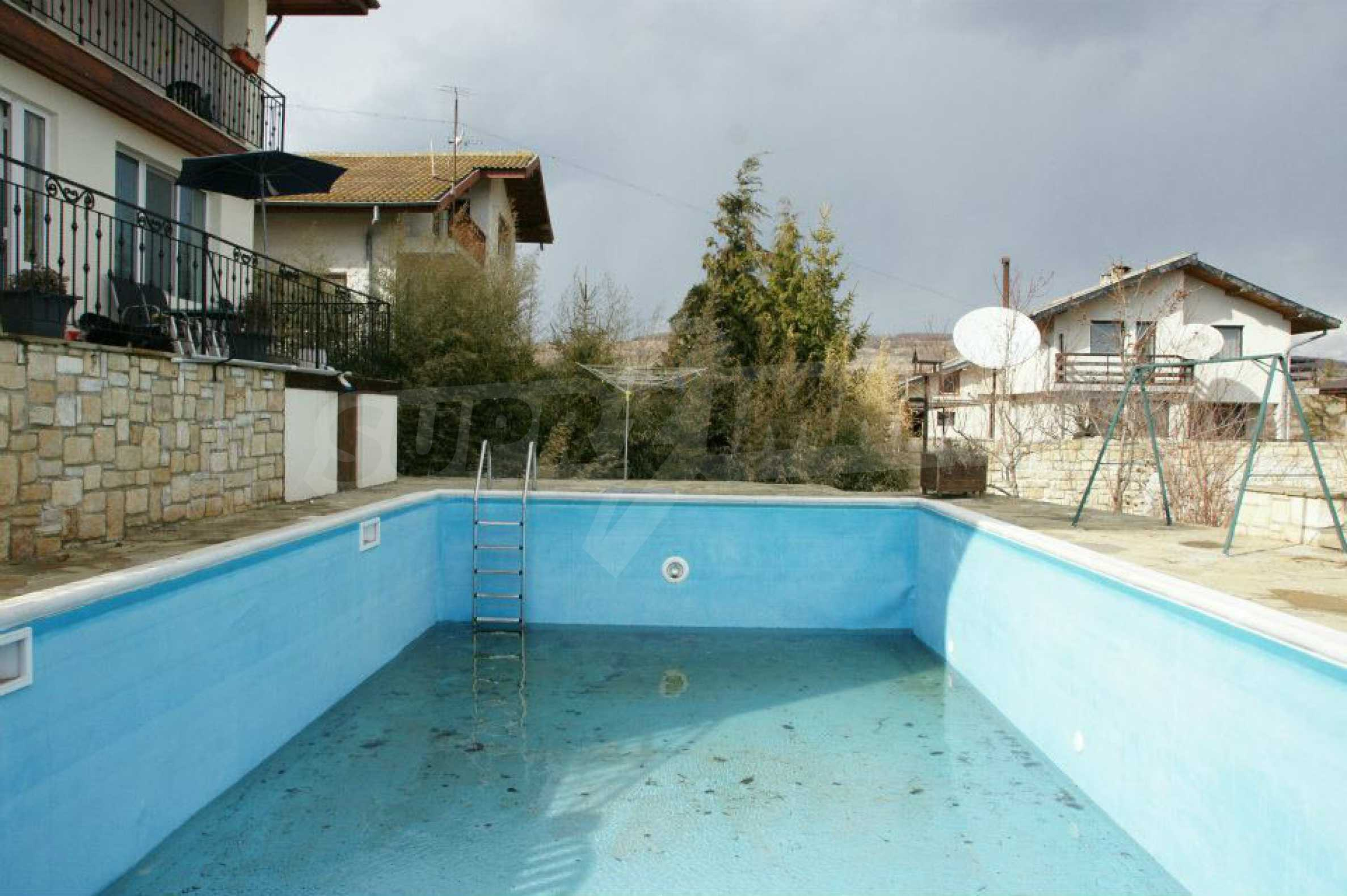 Two-storey house near Varna with a pool and sea view 30