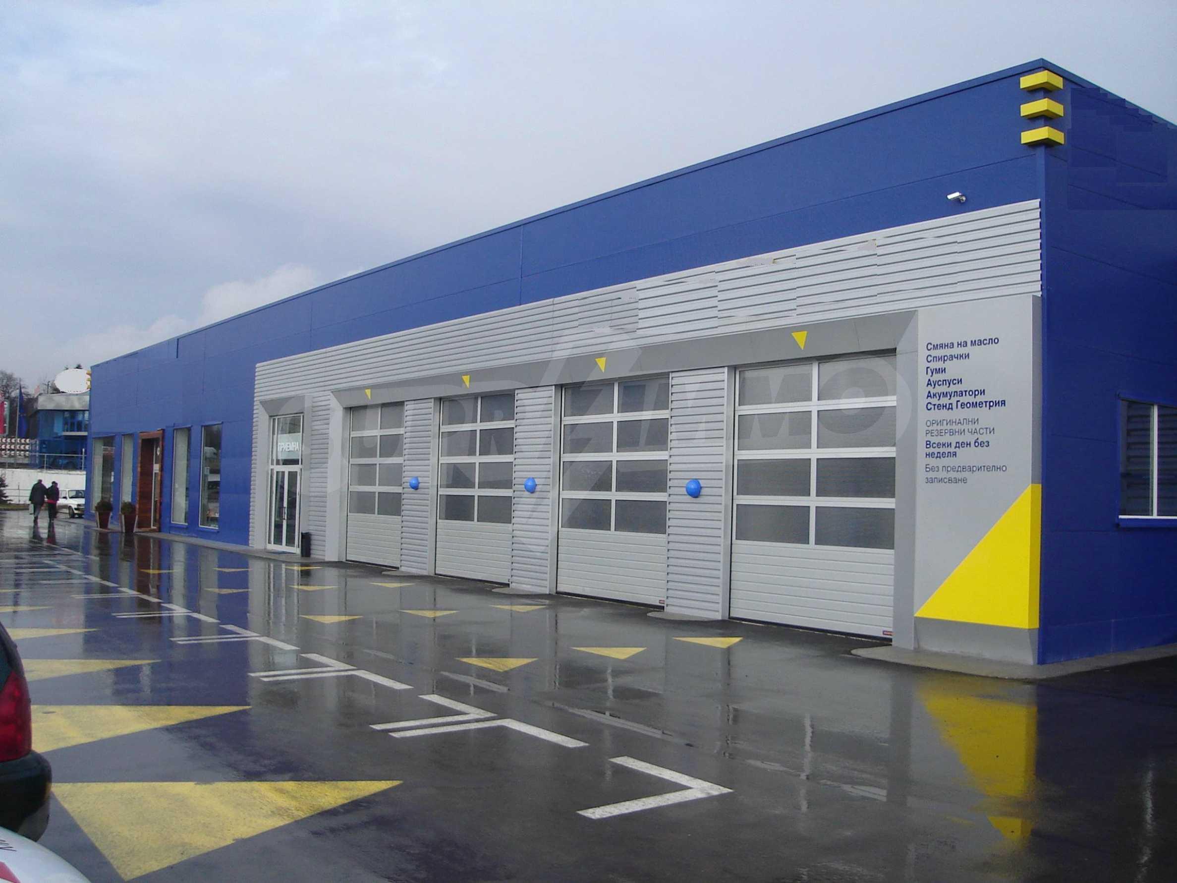 Gewerbe- und Dienstleistungskomplex im Stadtteil Mladost 1