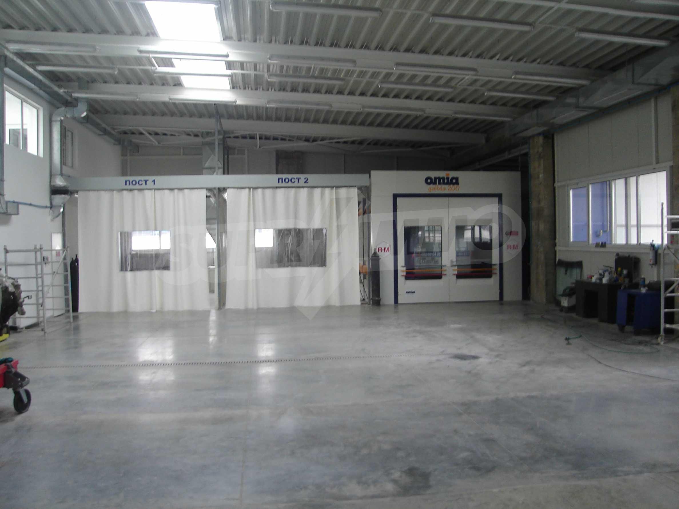 Gewerbe- und Dienstleistungskomplex im Stadtteil Mladost 2