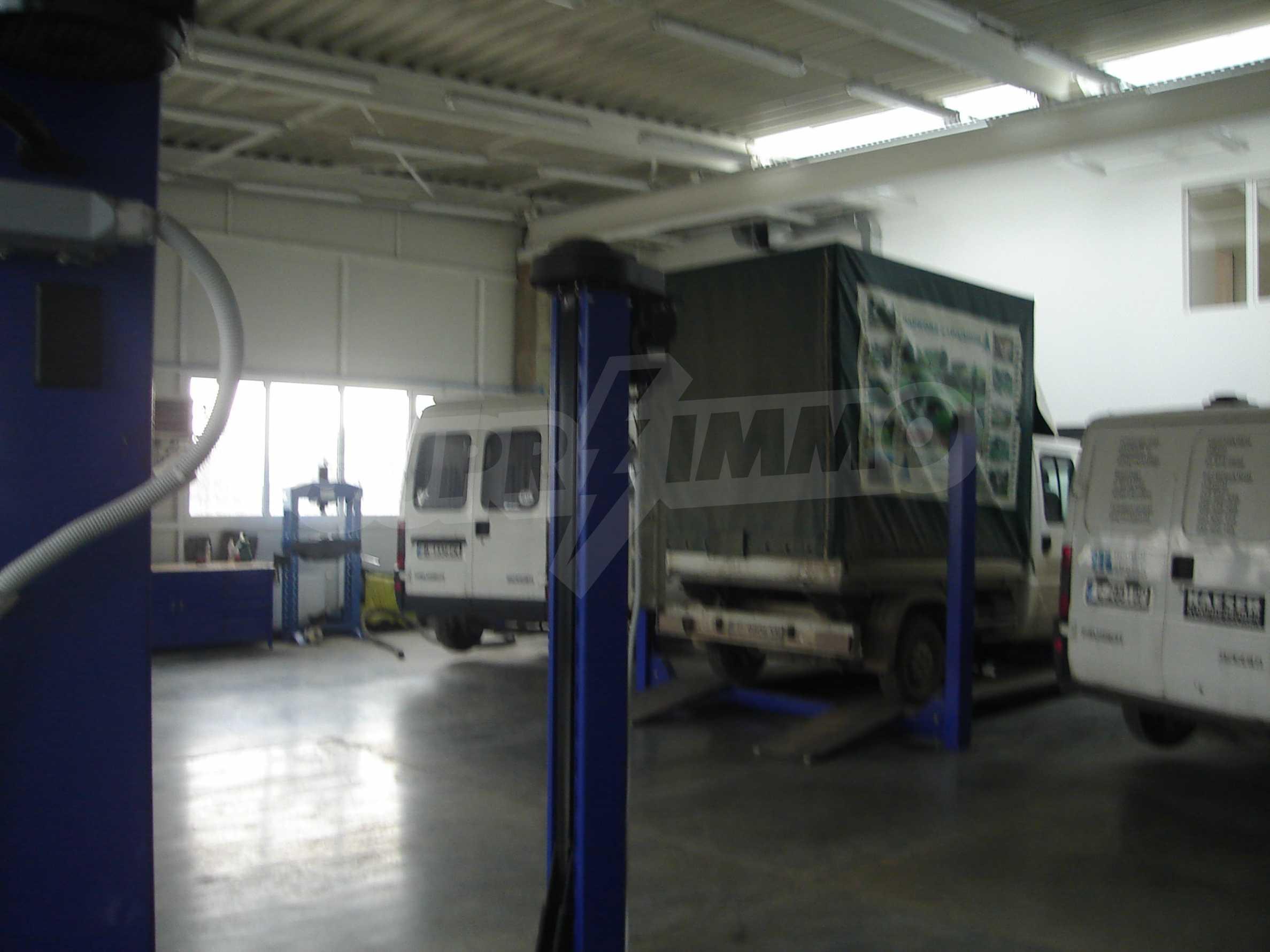Gewerbe- und Dienstleistungskomplex im Stadtteil Mladost 7