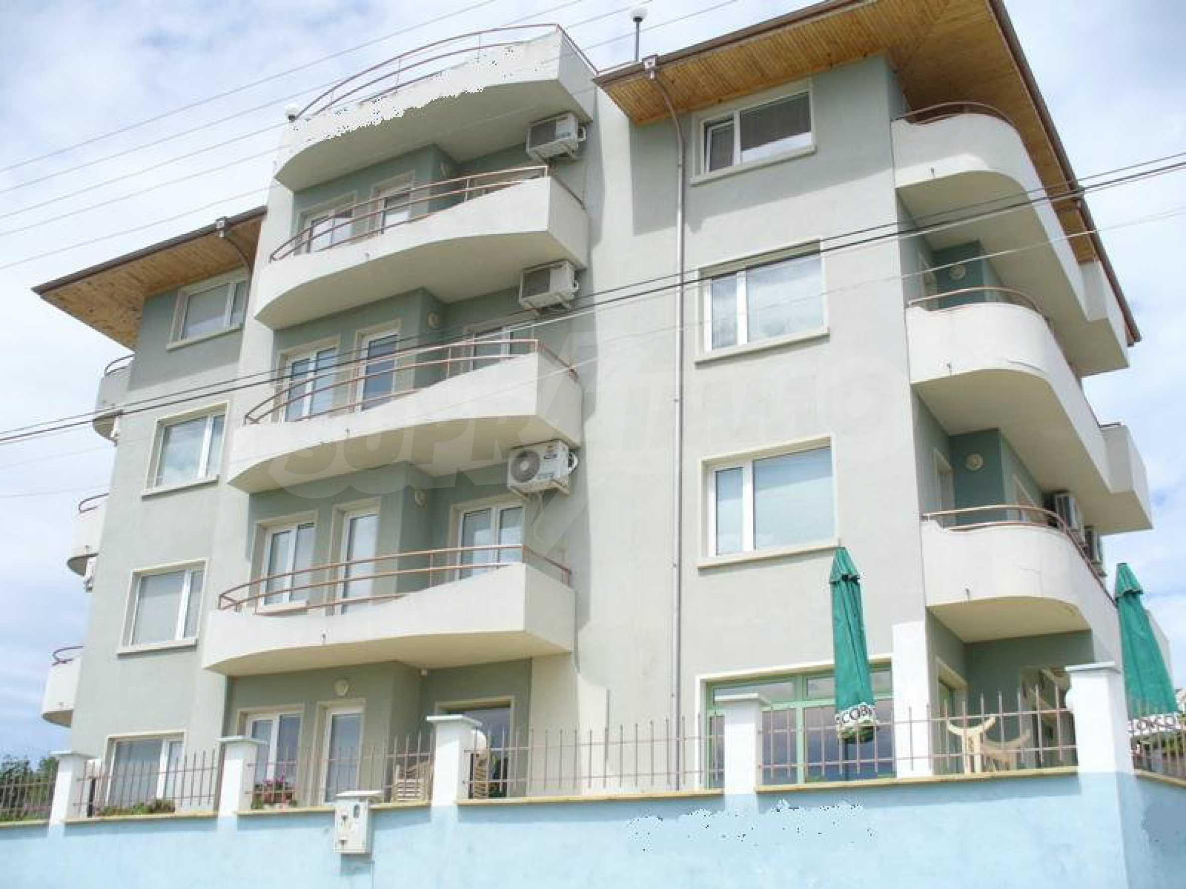 Gemütliches Familienhotel am Schwarzen Meer in der Stadt Byala
