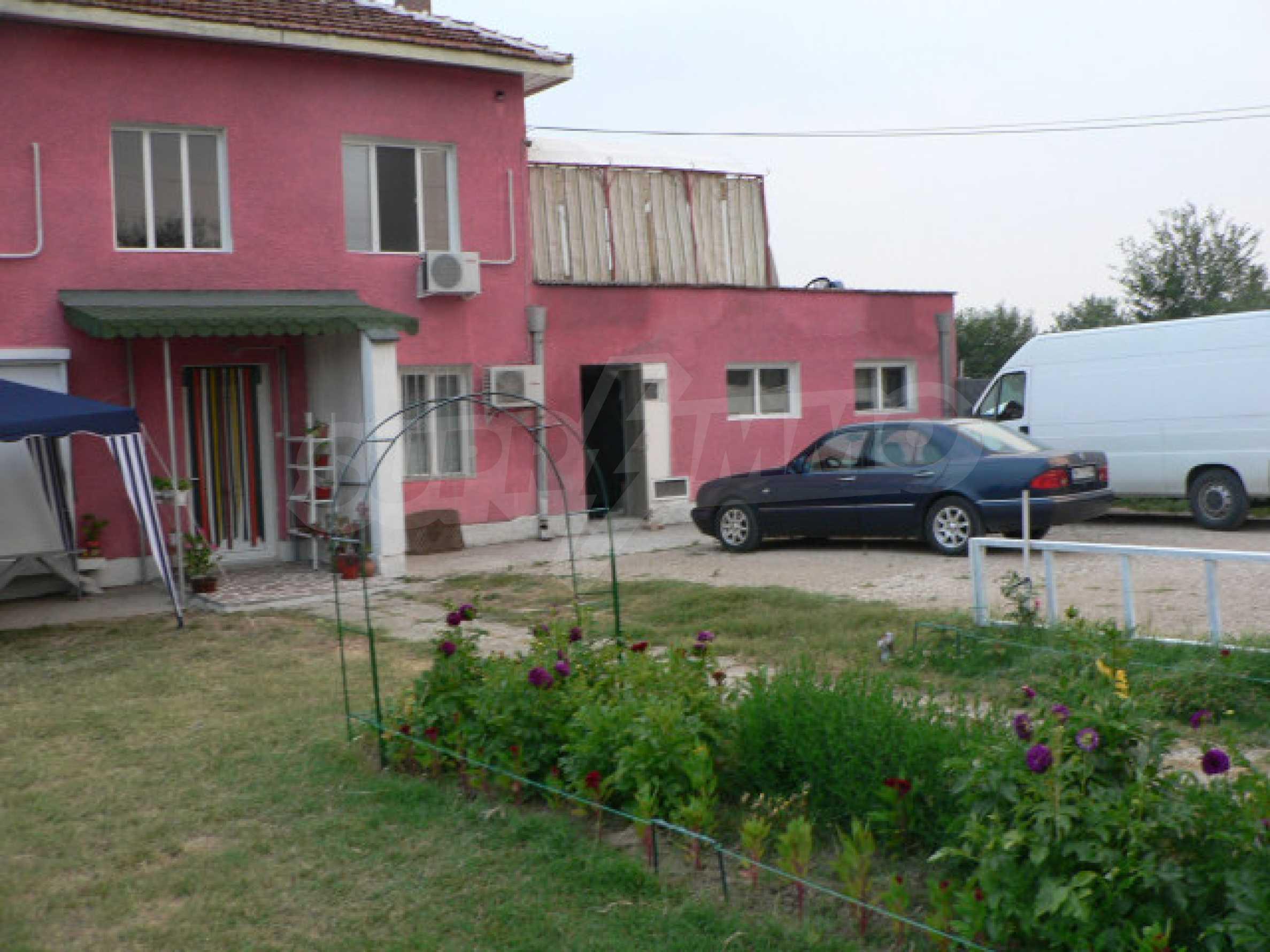 Розовата къща