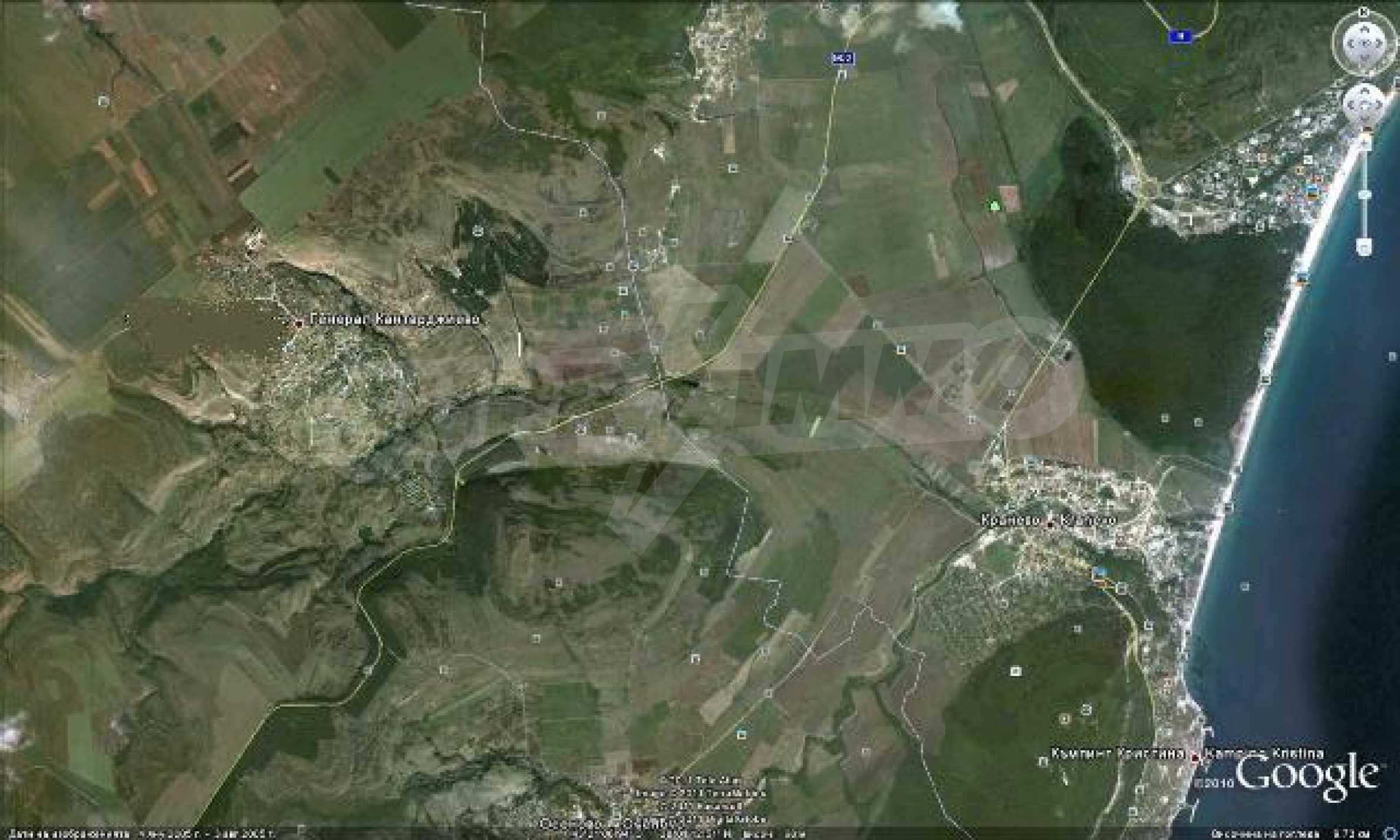Geregeltes Grundstück in der Nähe des Dorfes Gen. Kantardzhievo