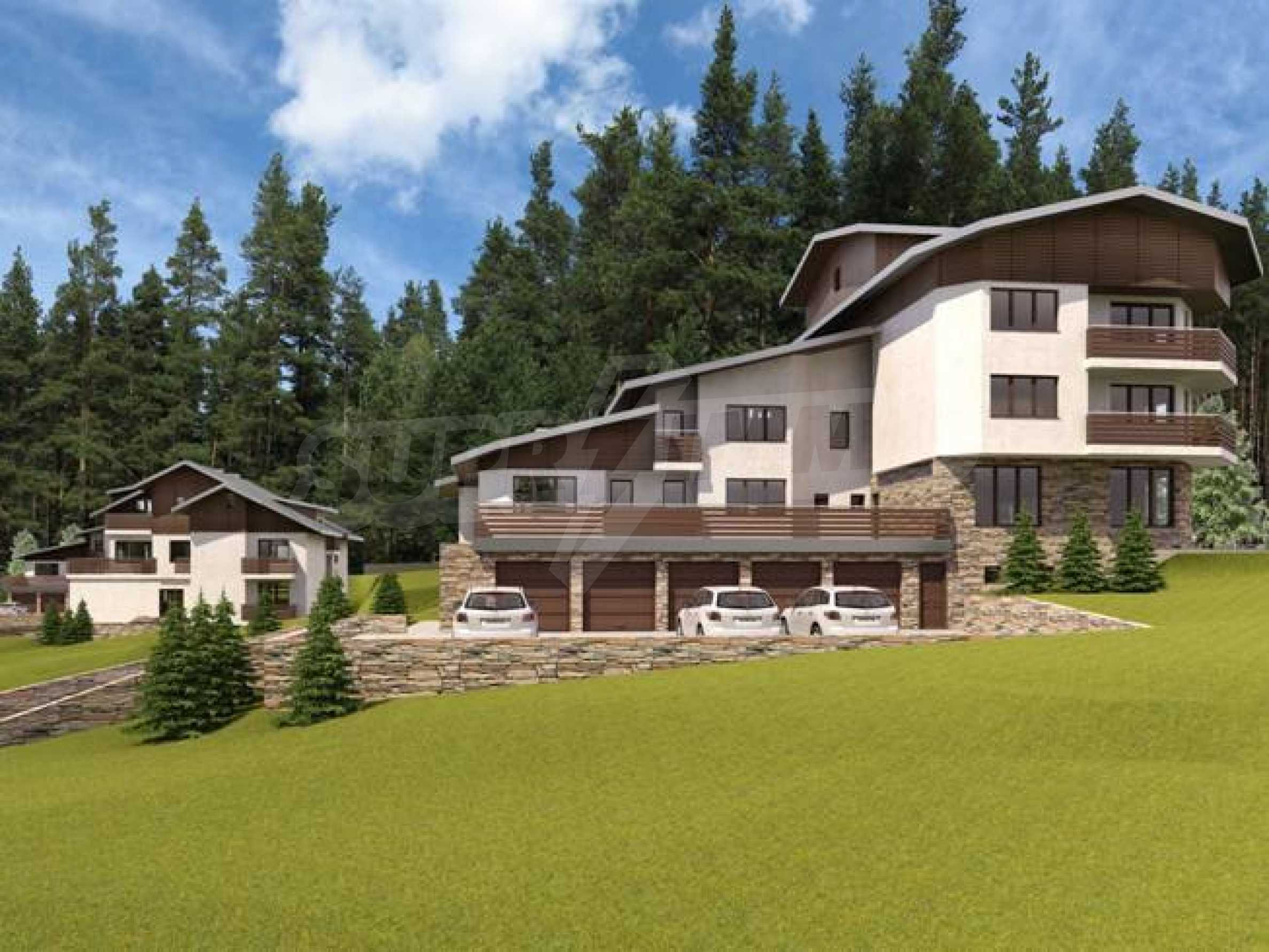 Investment project in the ski resort of Borovets