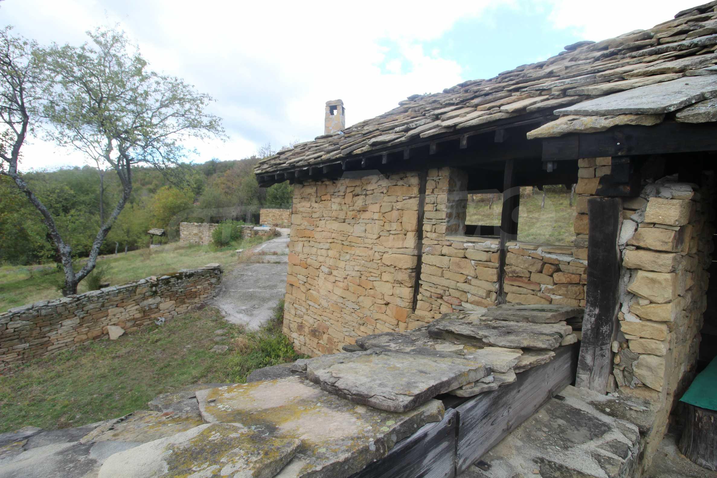 Luxuriöses Berggut mit einem sehr großen Garten auf dem Balkan, 17 km von Tryavna entfernt 11