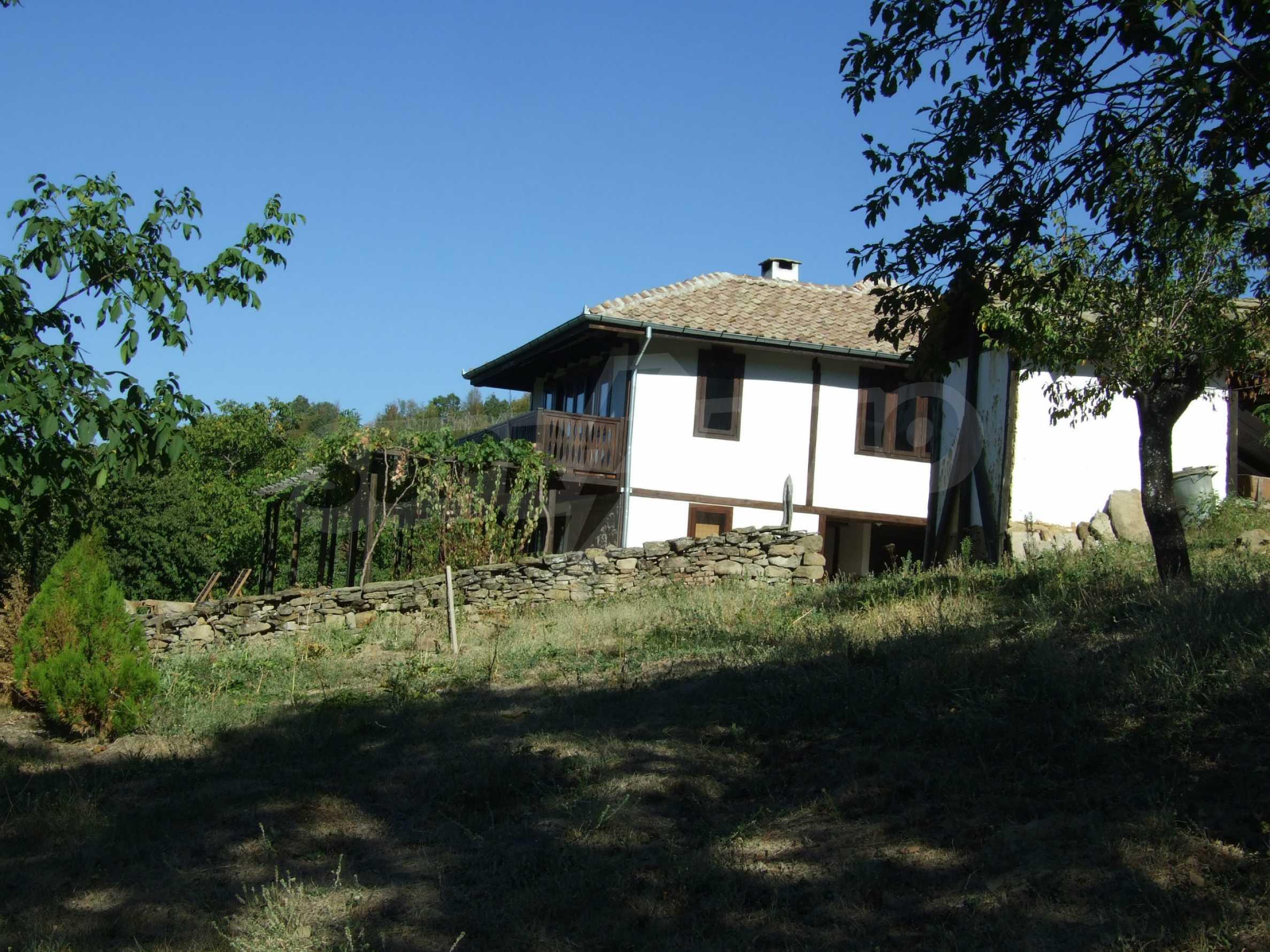 Luxuriöses Berggut mit einem sehr großen Garten auf dem Balkan, 17 km von Tryavna entfernt 23