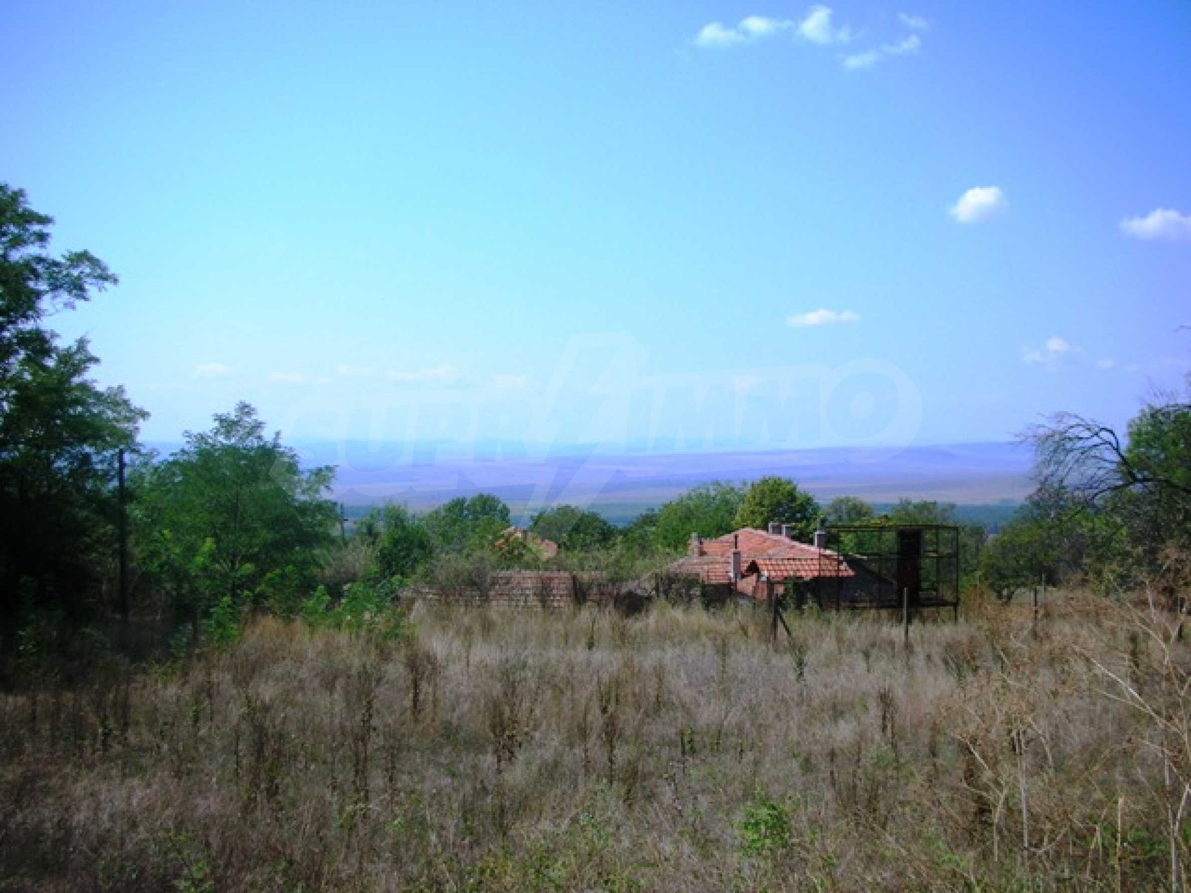 Plot for sale in Avren with project for house 1