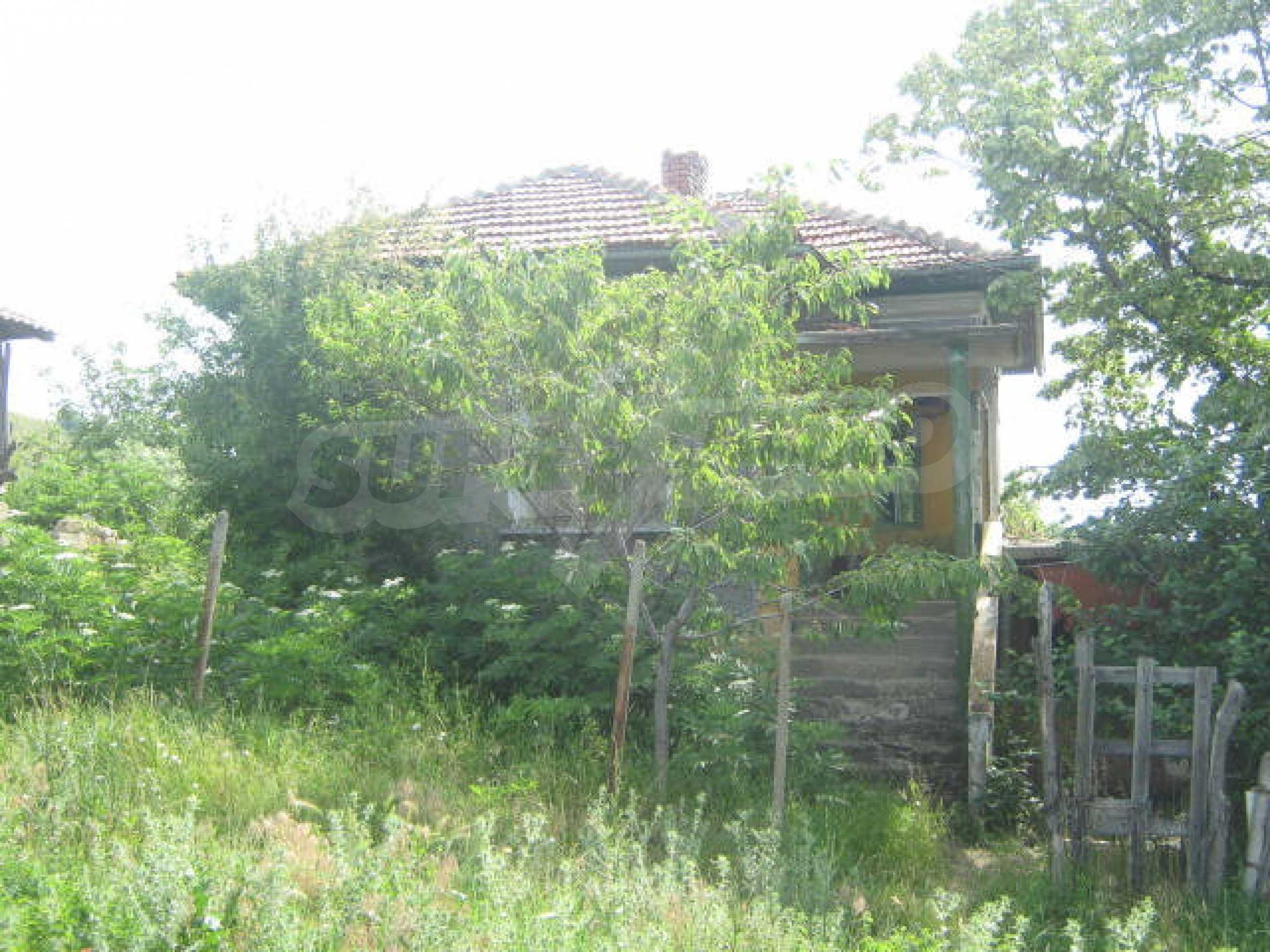 Селска къща с голям двор на 13 км от Видин