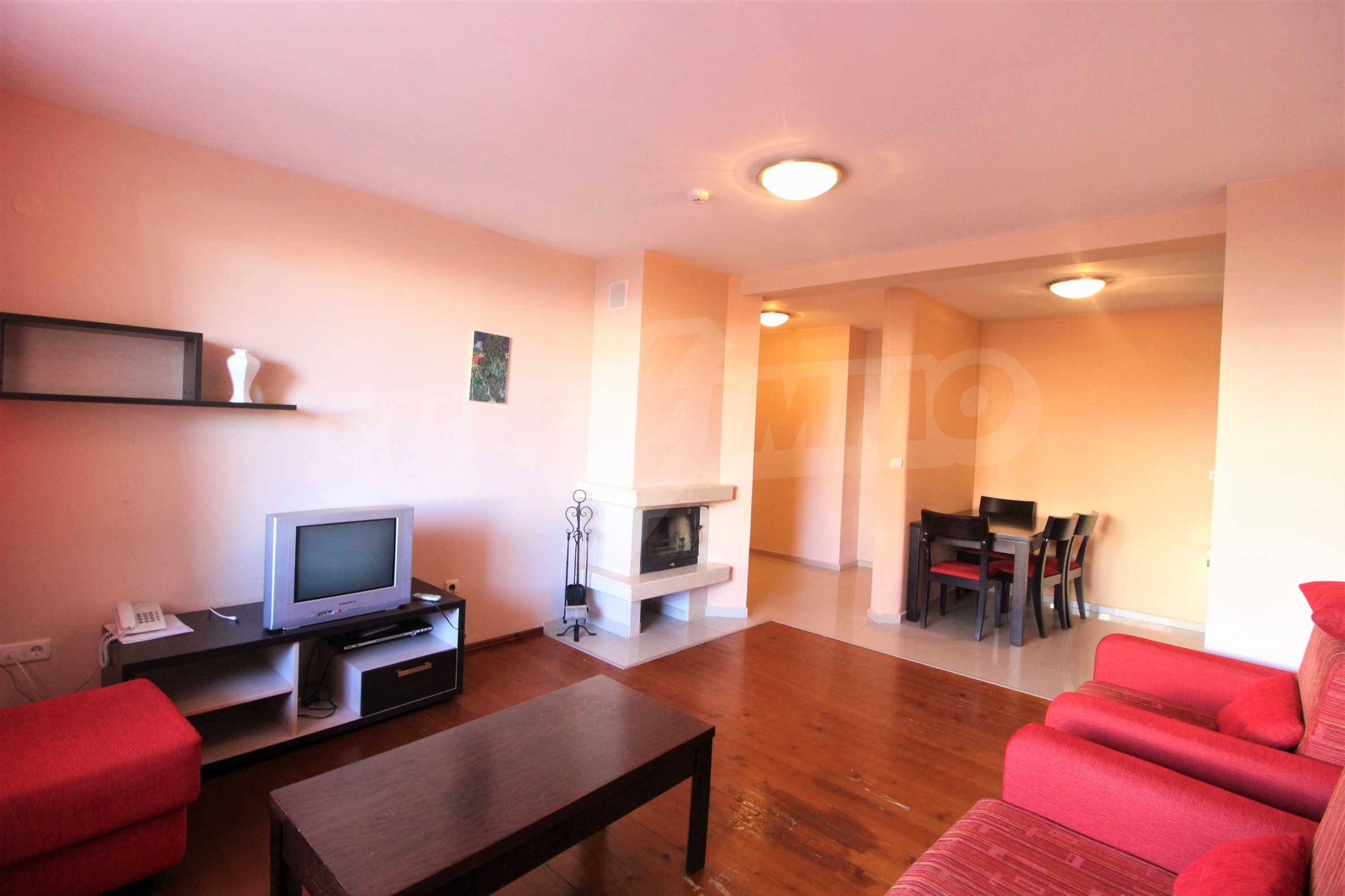 One-bedroom furnished apartment for sale in Mountview Lodge in Bansko