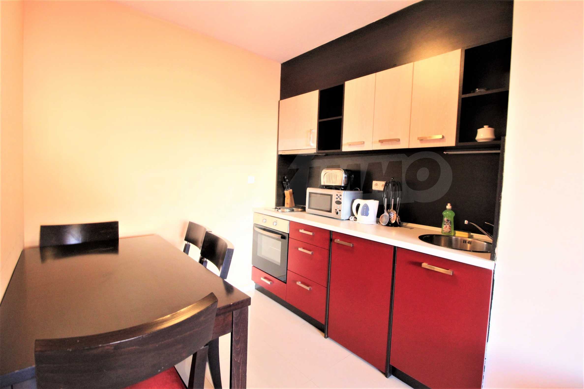 One-bedroom furnished apartment for sale in Mountview Lodge in Bansko 2